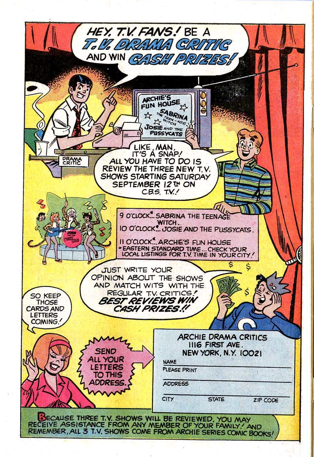 Read online Archie (1960) comic -  Issue #204 - 34