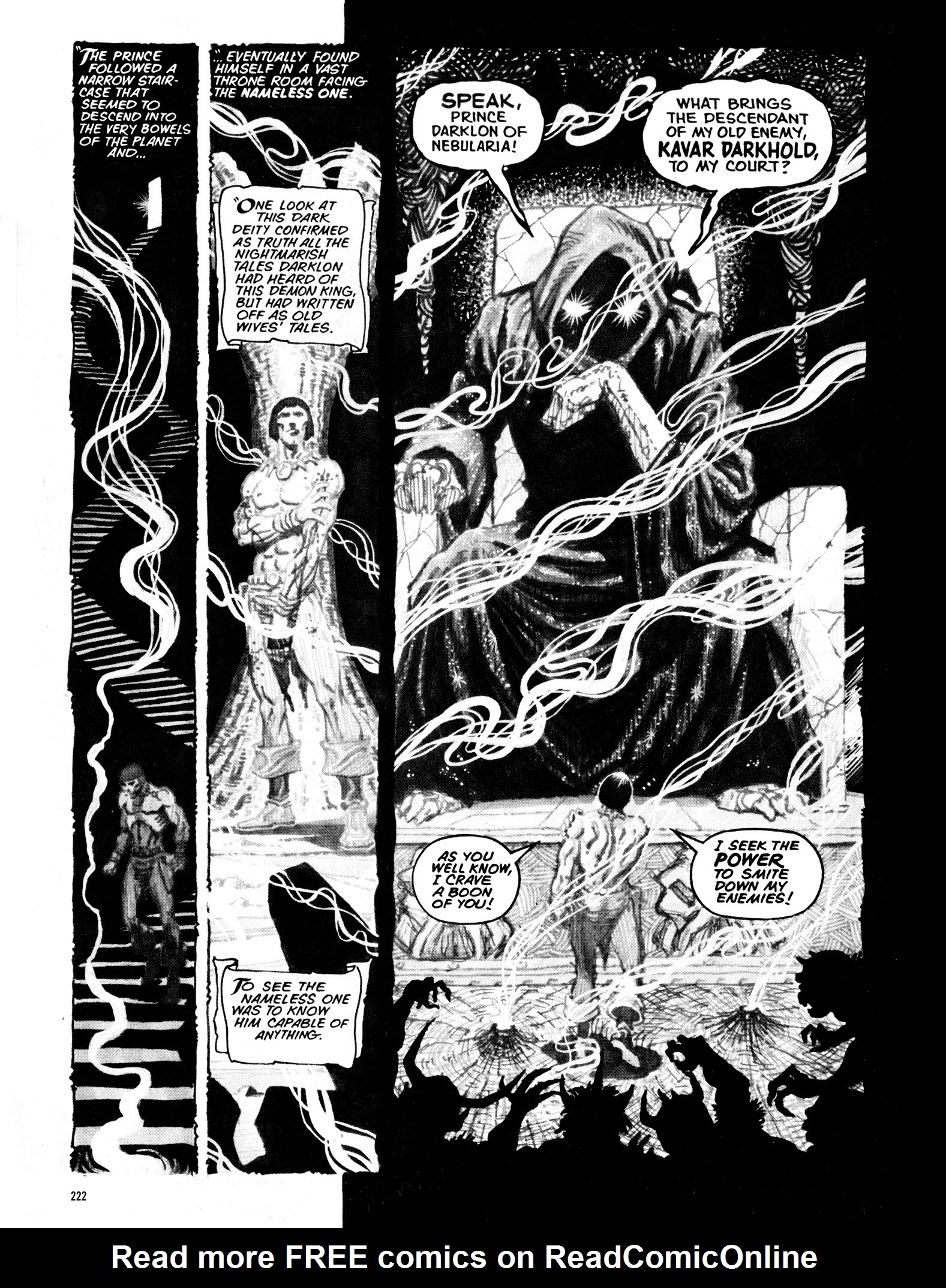 Read online Eerie Archives comic -  Issue # TPB 16 - 223