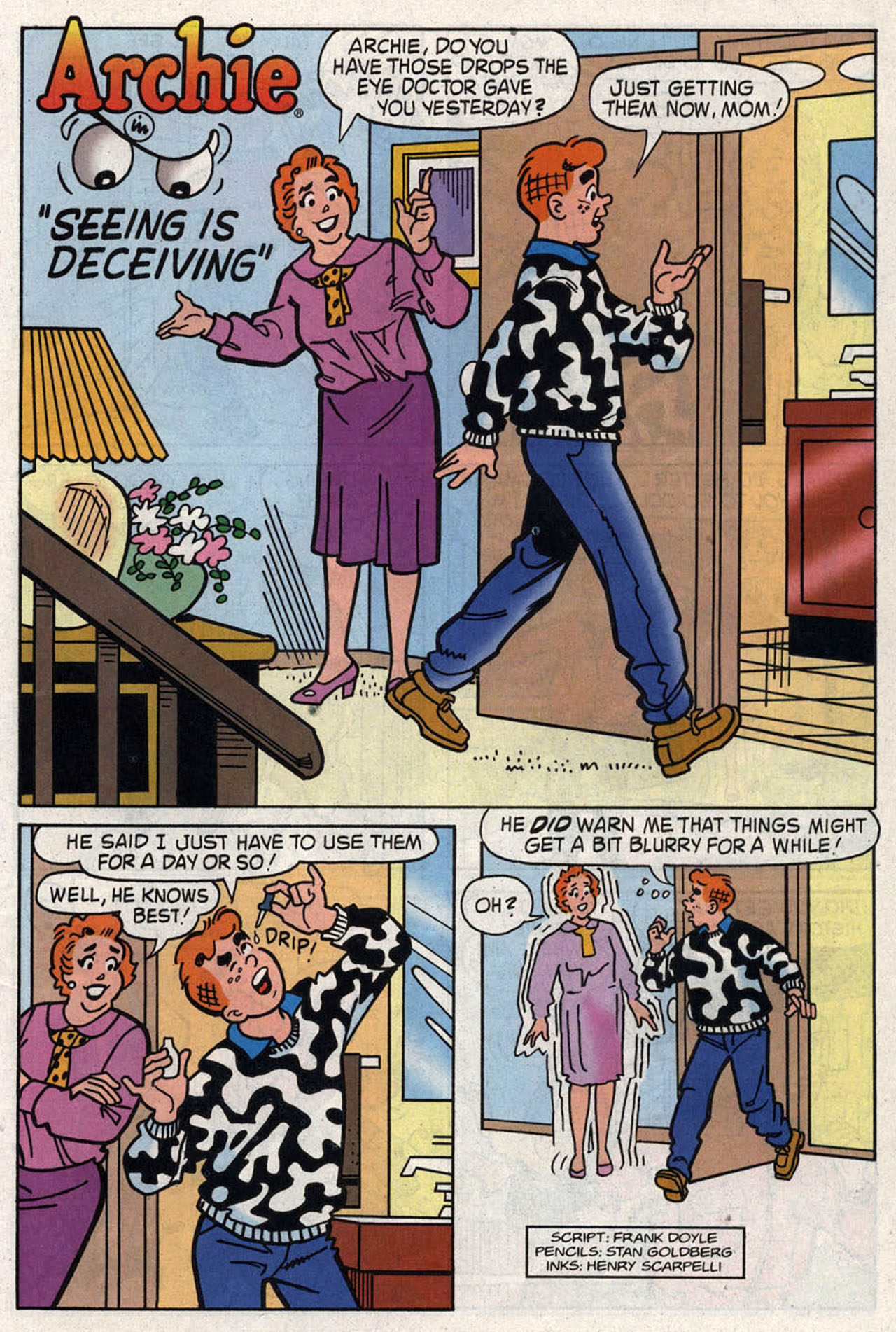 Read online Archie (1960) comic -  Issue #446 - 11