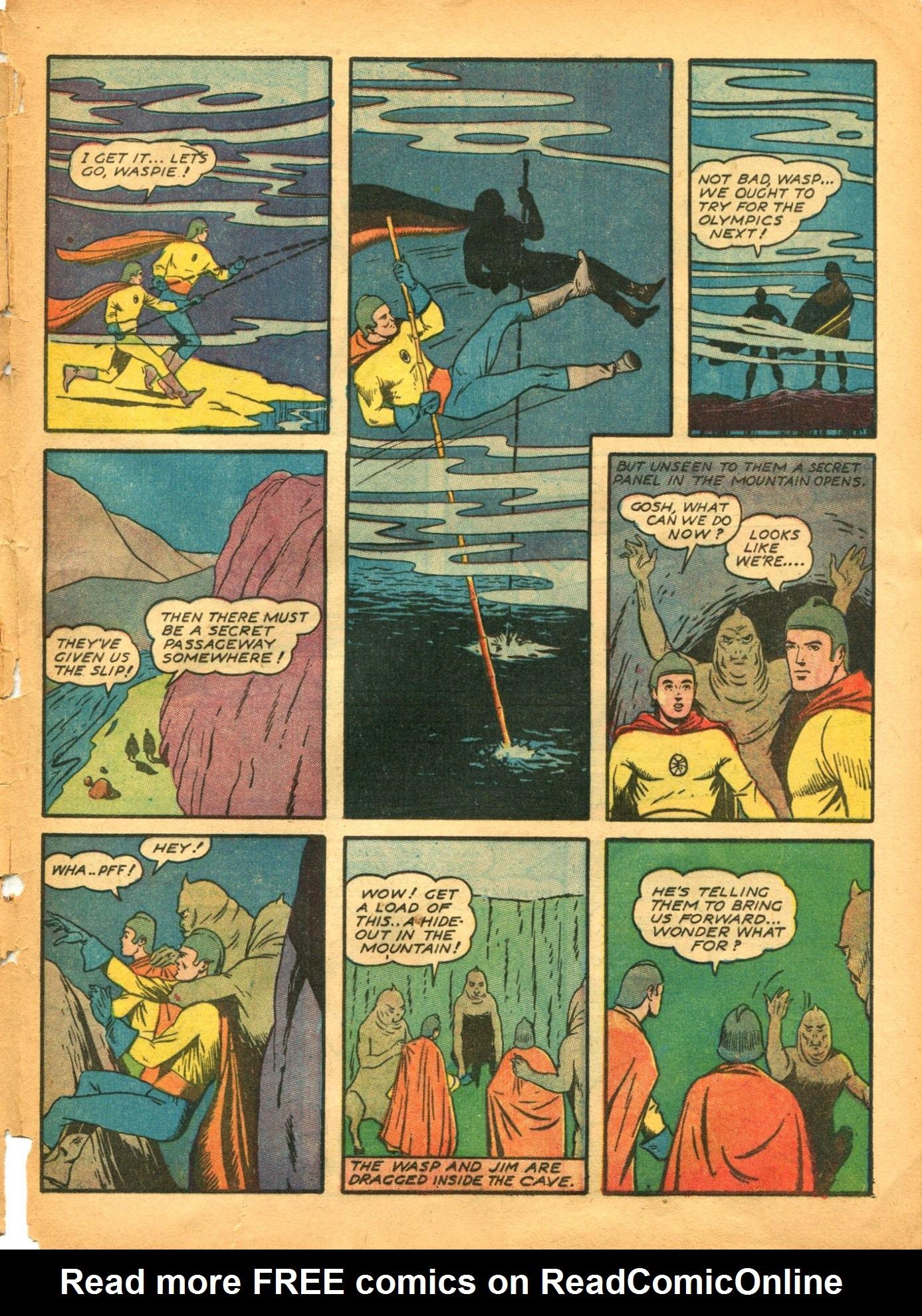 Read online Shadow Comics comic -  Issue #12 - 55