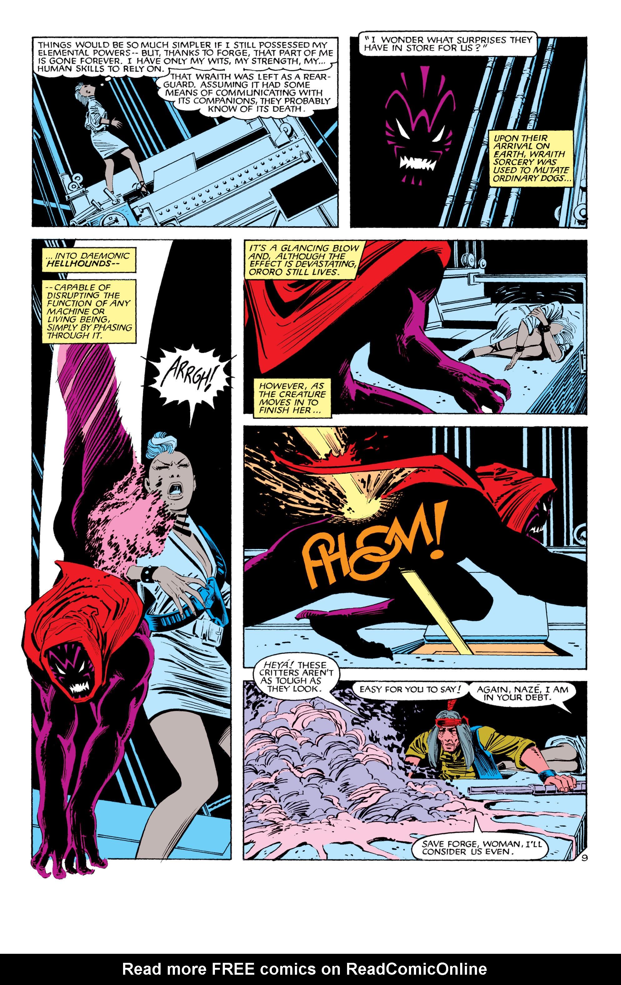 Read online Uncanny X-Men (1963) comic -  Issue #187 - 10