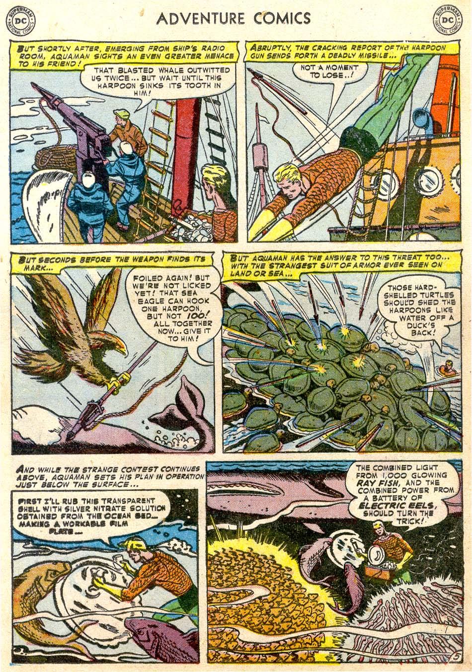 Read online Adventure Comics (1938) comic -  Issue #174 - 21
