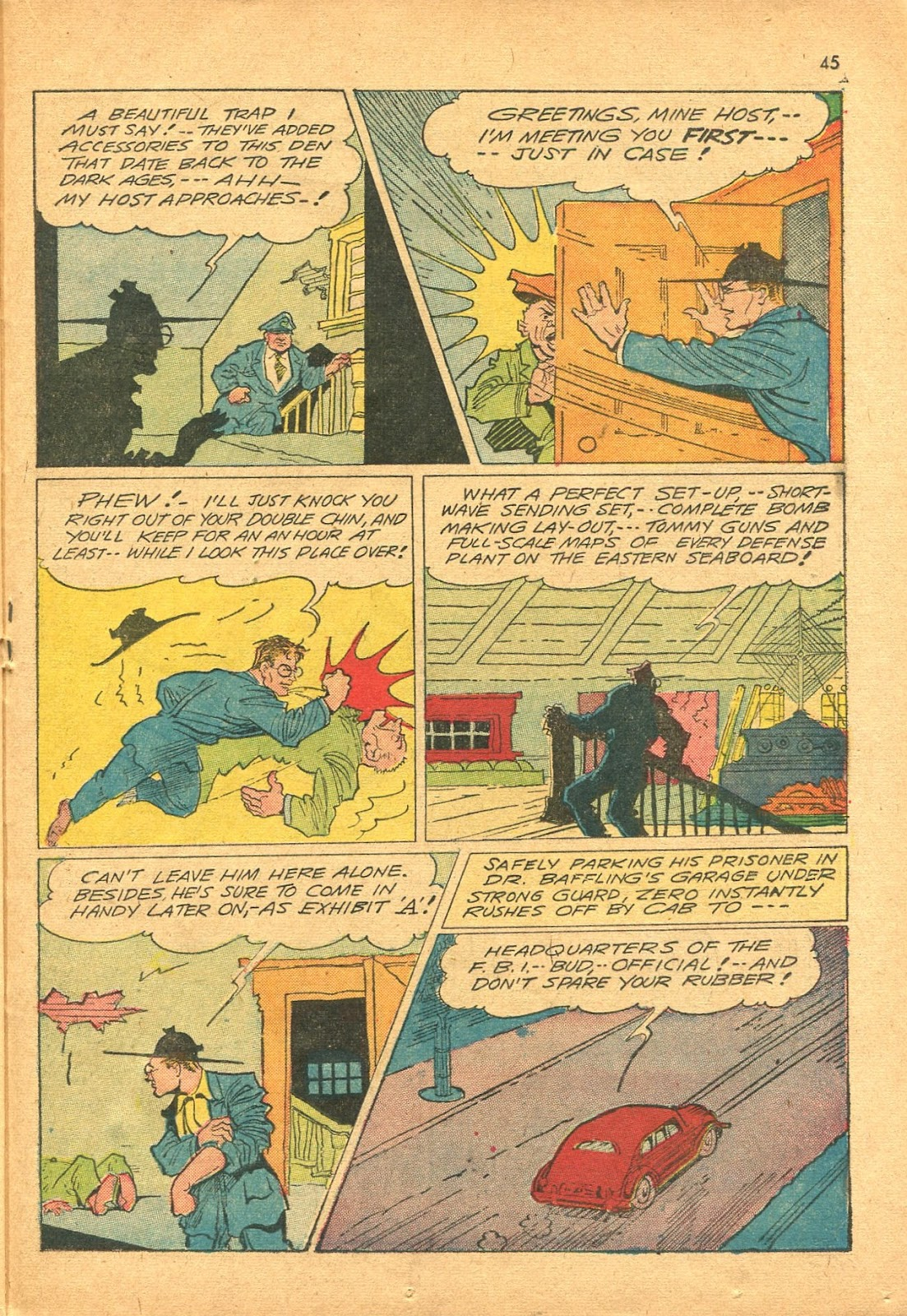 Read online Super-Magician Comics comic -  Issue #18 - 44