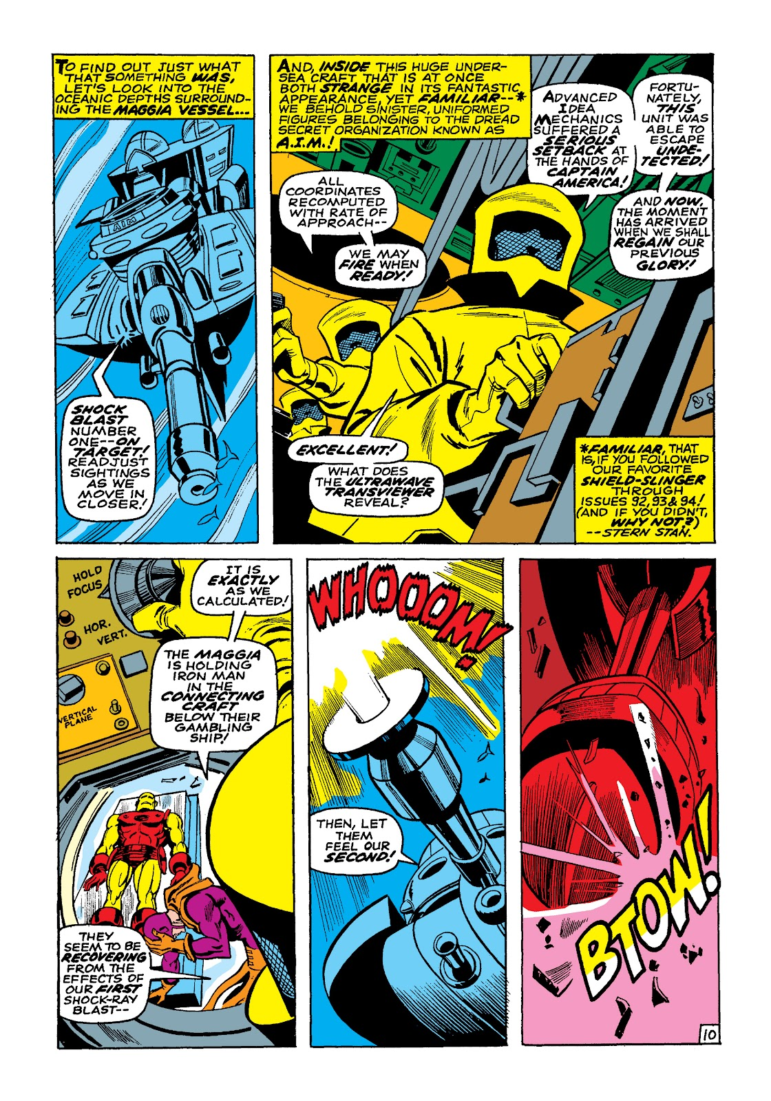Read online Marvel Masterworks: The Invincible Iron Man comic -  Issue # TPB 4 (Part 3) - 10