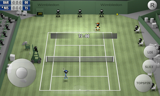 Game Stickman Tennis Career Mod