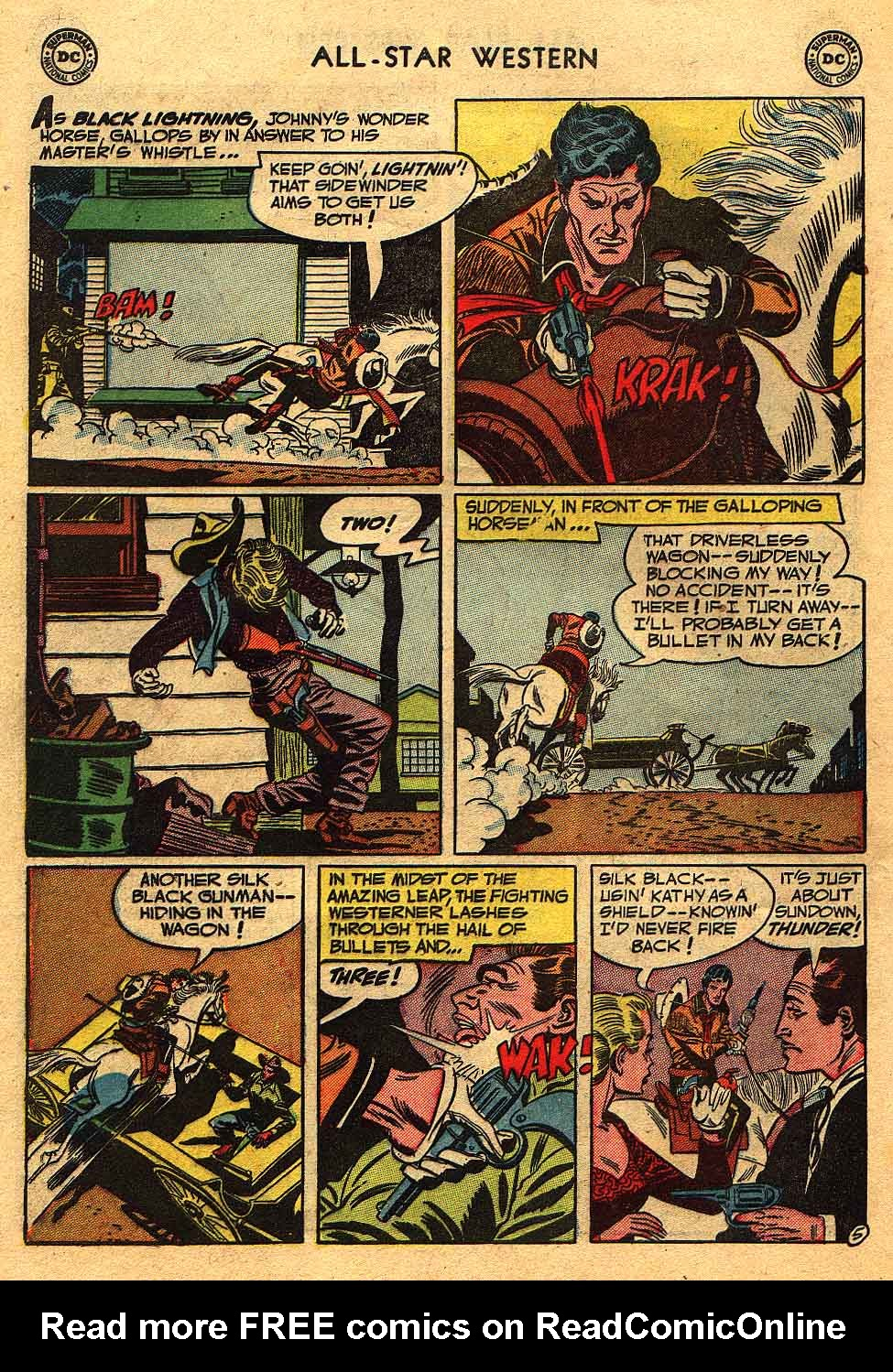 Read online All-Star Western (1951) comic -  Issue #70 - 32