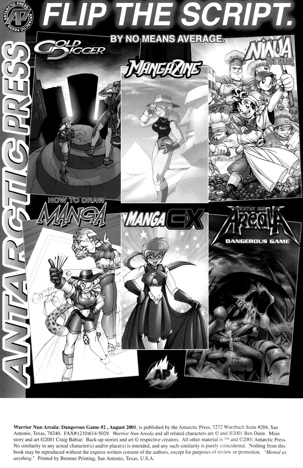 Warrior Nun Areala:  Dangerous Game Issue #2 #2 - English 2