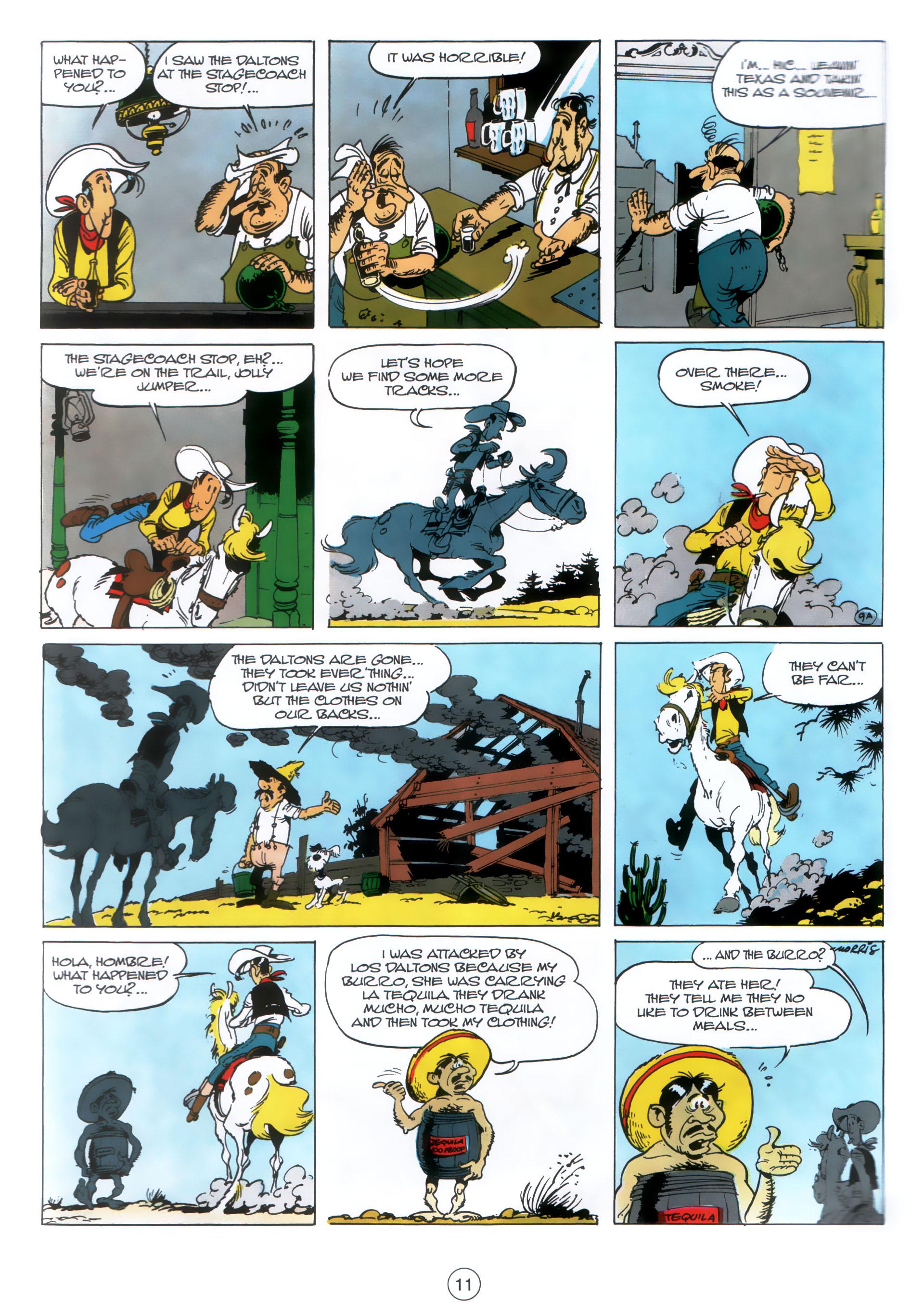 Read online A Lucky Luke Adventure comic -  Issue #30 - 10