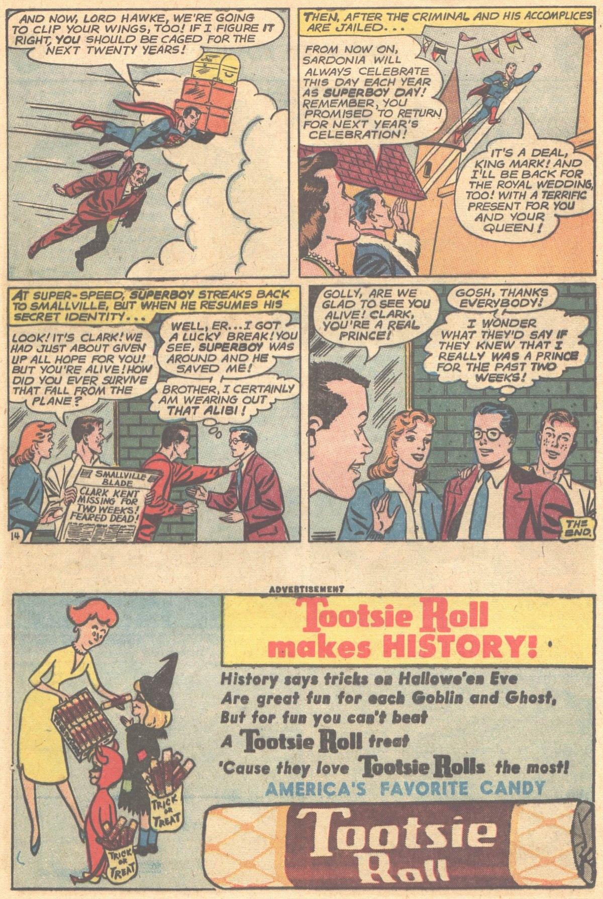 Read online Adventure Comics (1938) comic -  Issue #303 - 16