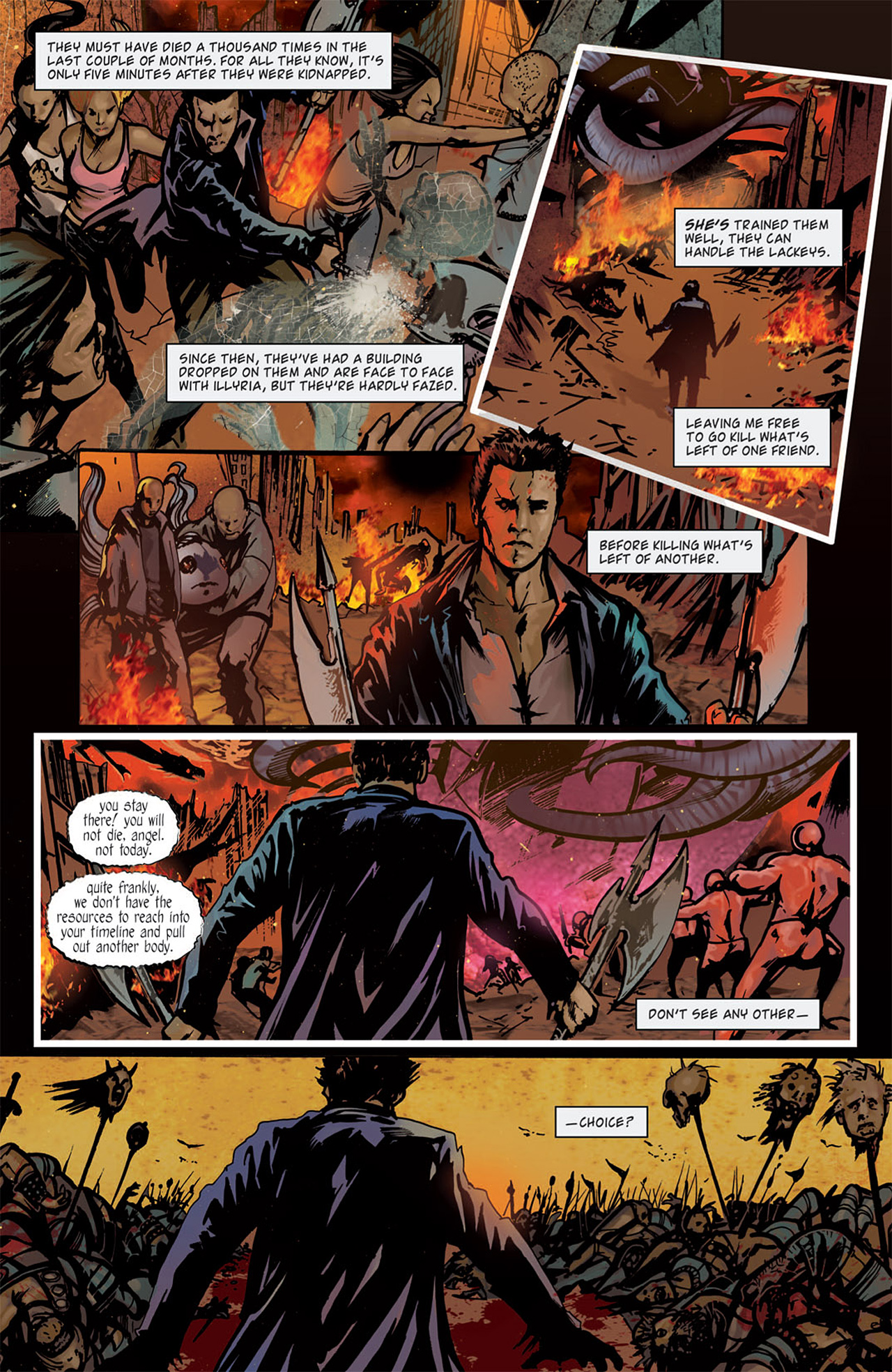 Read online Angel: After The Fall comic -  Issue #15 - 9
