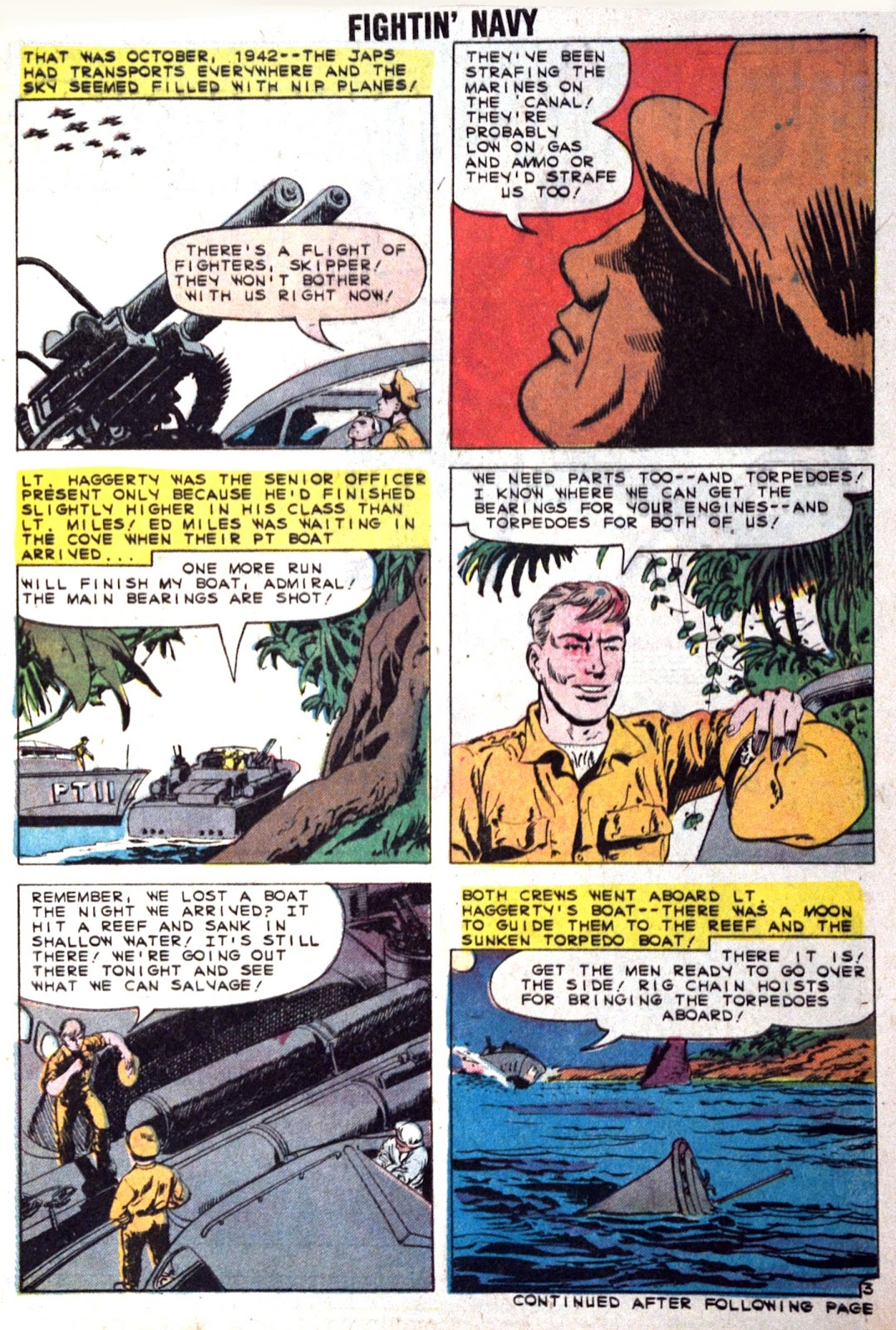 Read online Fightin' Navy comic -  Issue #89 - 5