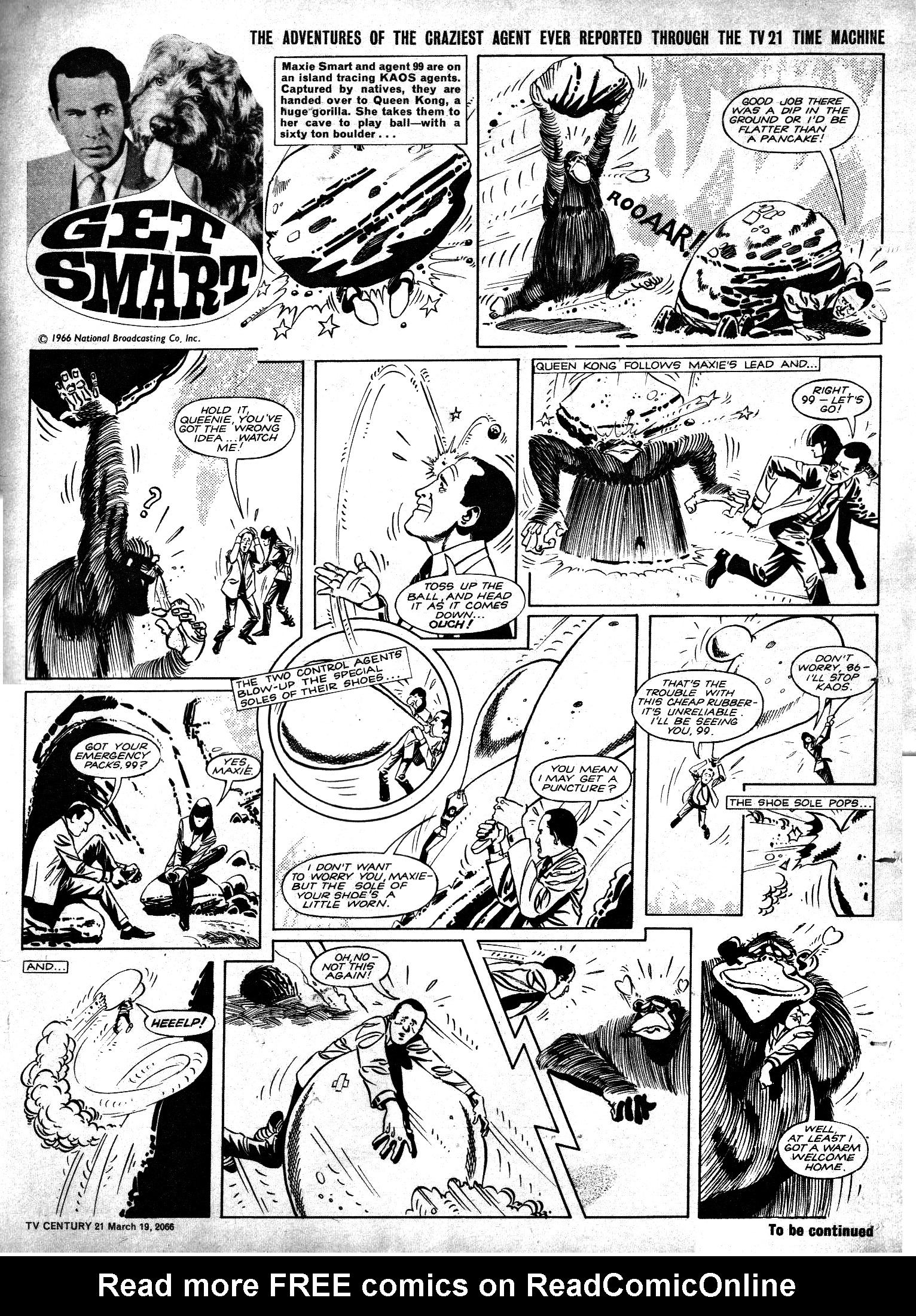 Read online TV Century 21 (TV 21) comic -  Issue #61 - 14