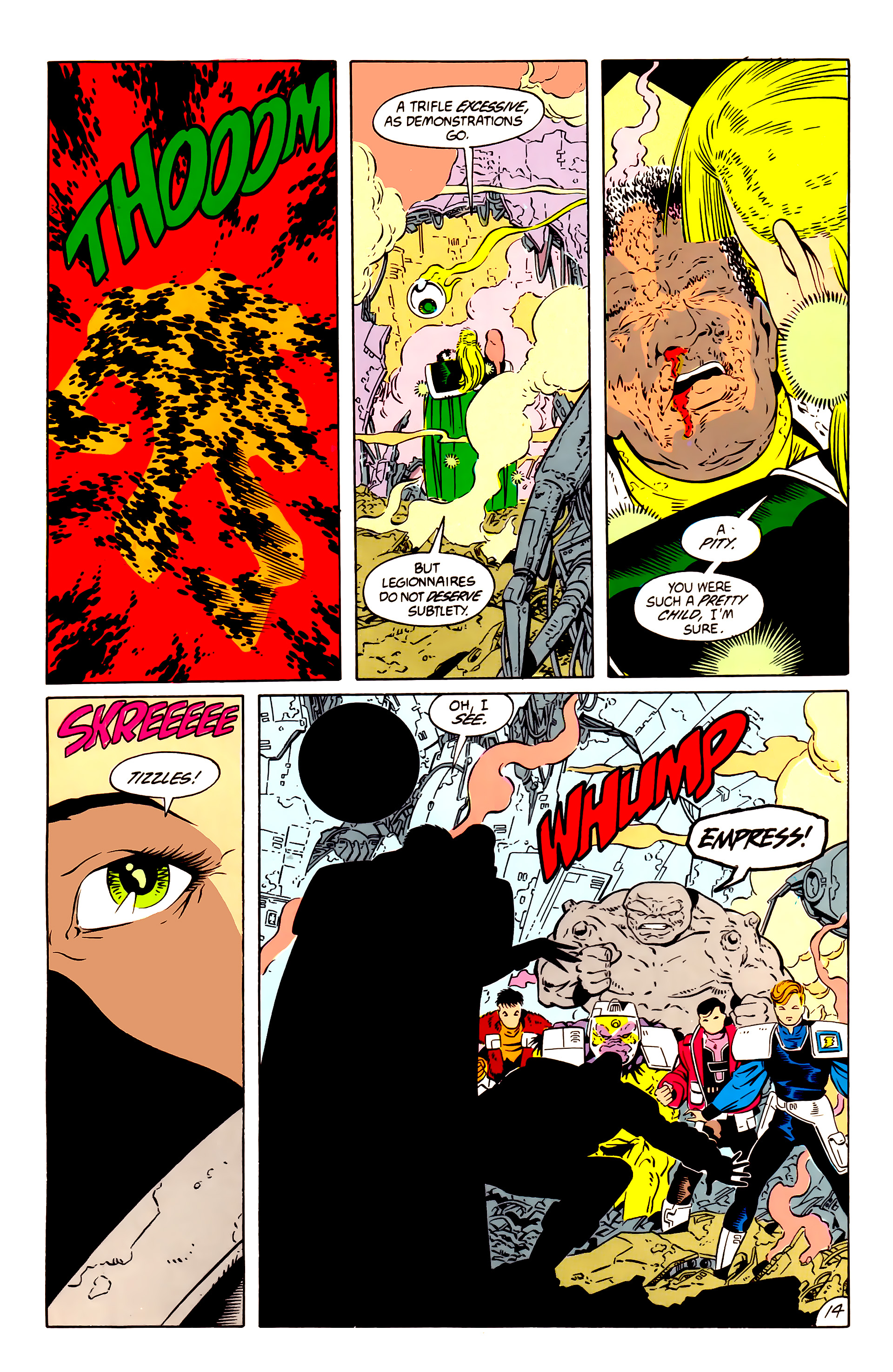 Legion of Super-Heroes (1984) 57 Page 14