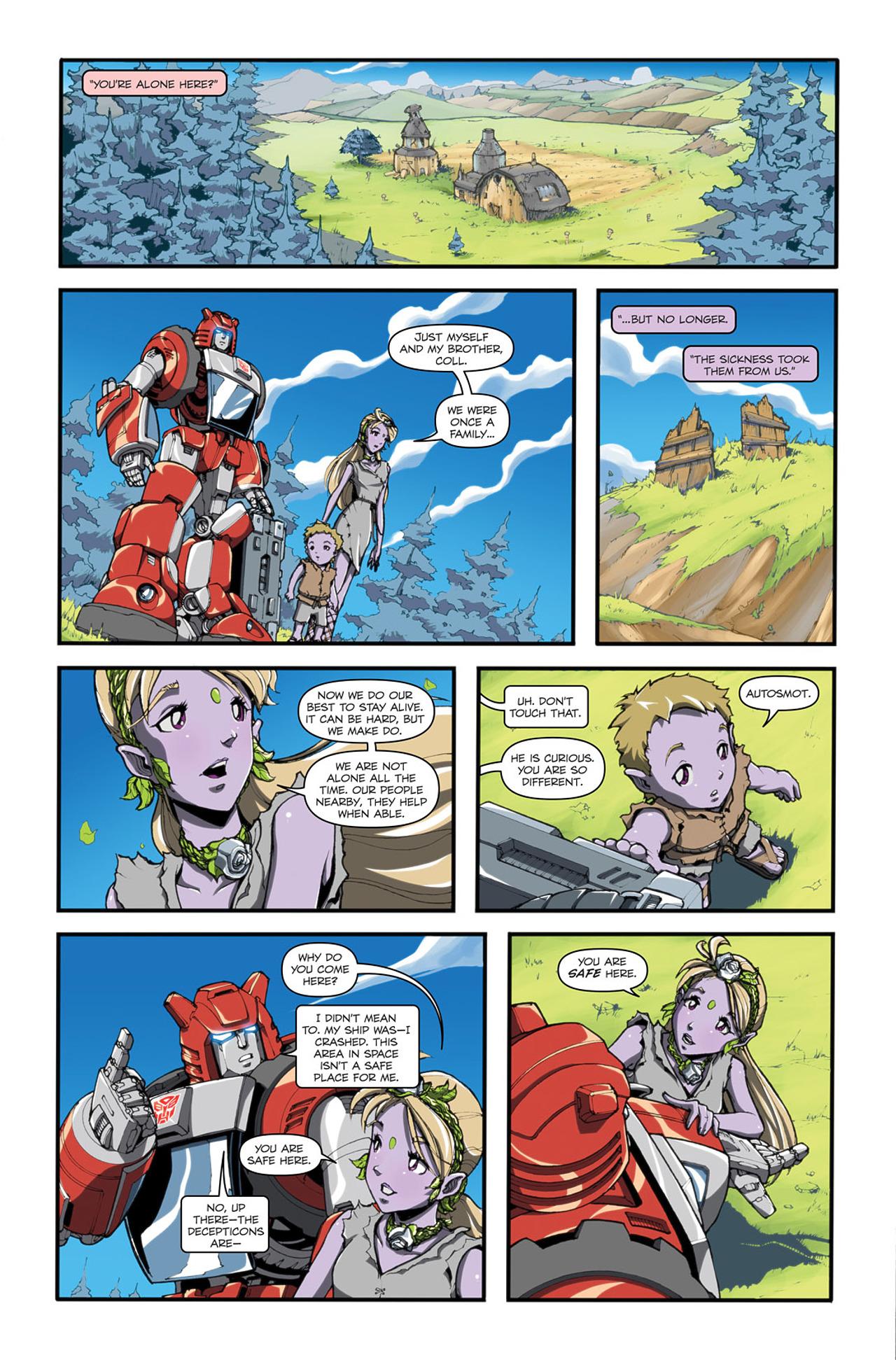 Read online Transformers Spotlight: Cliffjumper comic -  Issue # Full - 9