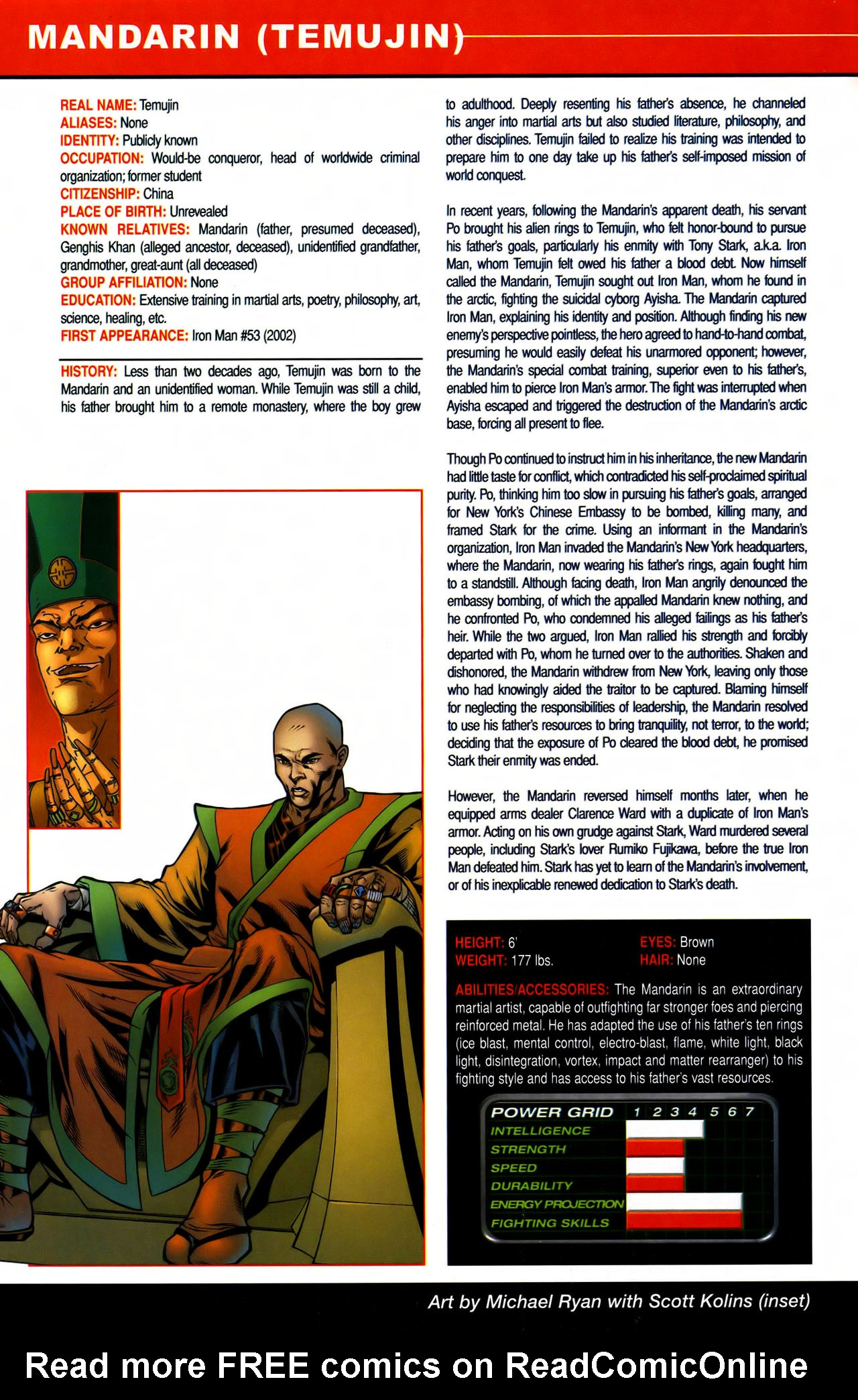 Read online All-New Official Handbook of the Marvel Universe A to Z comic -  Issue #7 - 6