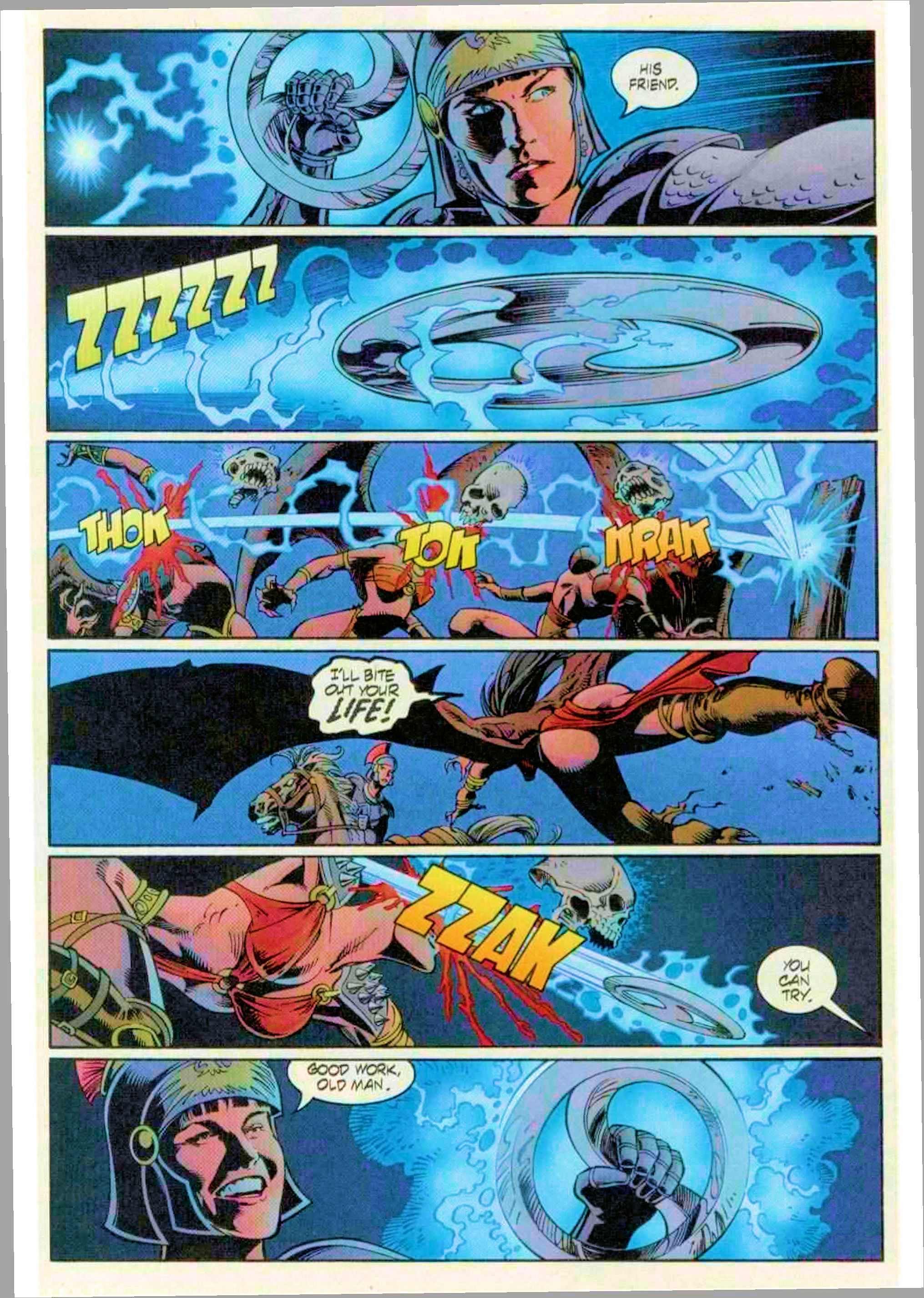Read online Xena: Warrior Princess (1999) comic -  Issue #12 - 18