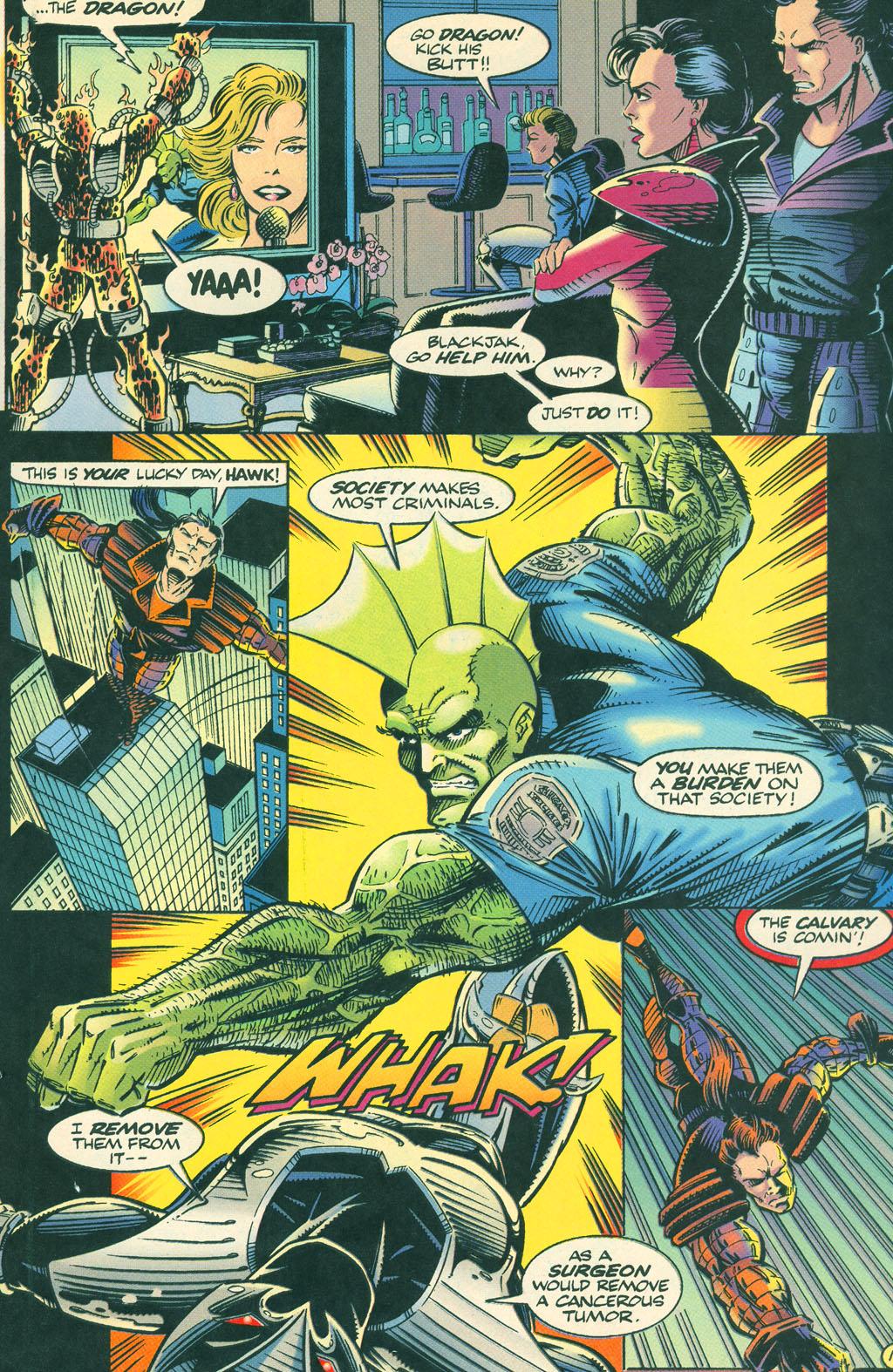 Read online ShadowHawk comic -  Issue #4 - 21
