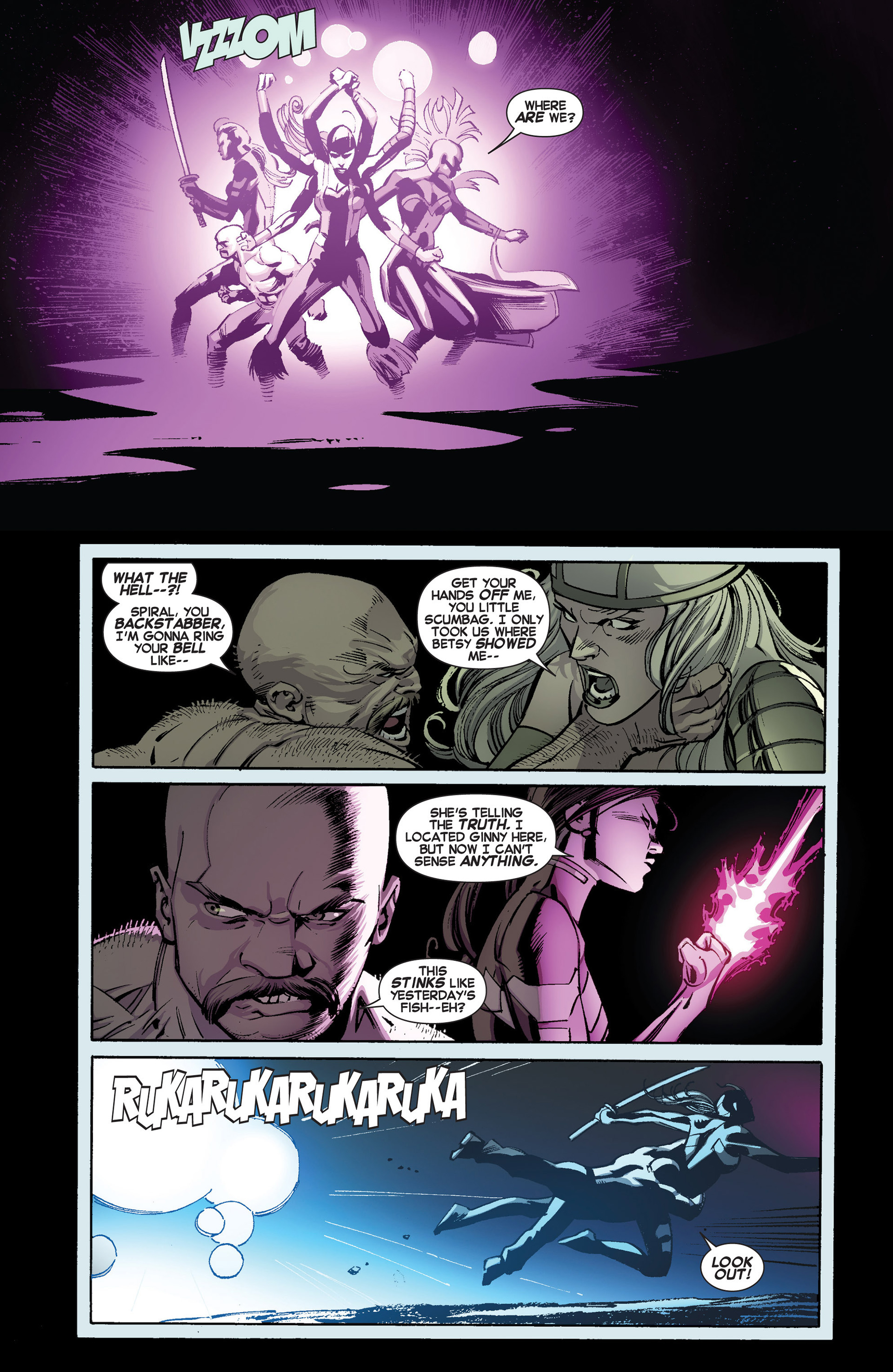 Read online Uncanny X-Force (2013) comic -  Issue #3 - 11