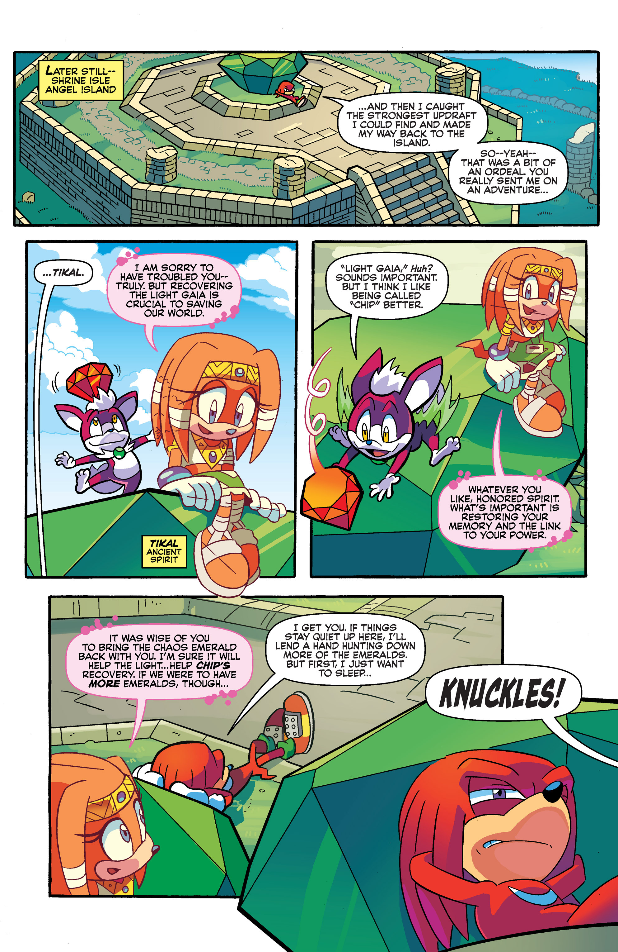 Read online Sonic Universe comic -  Issue #66 - 21