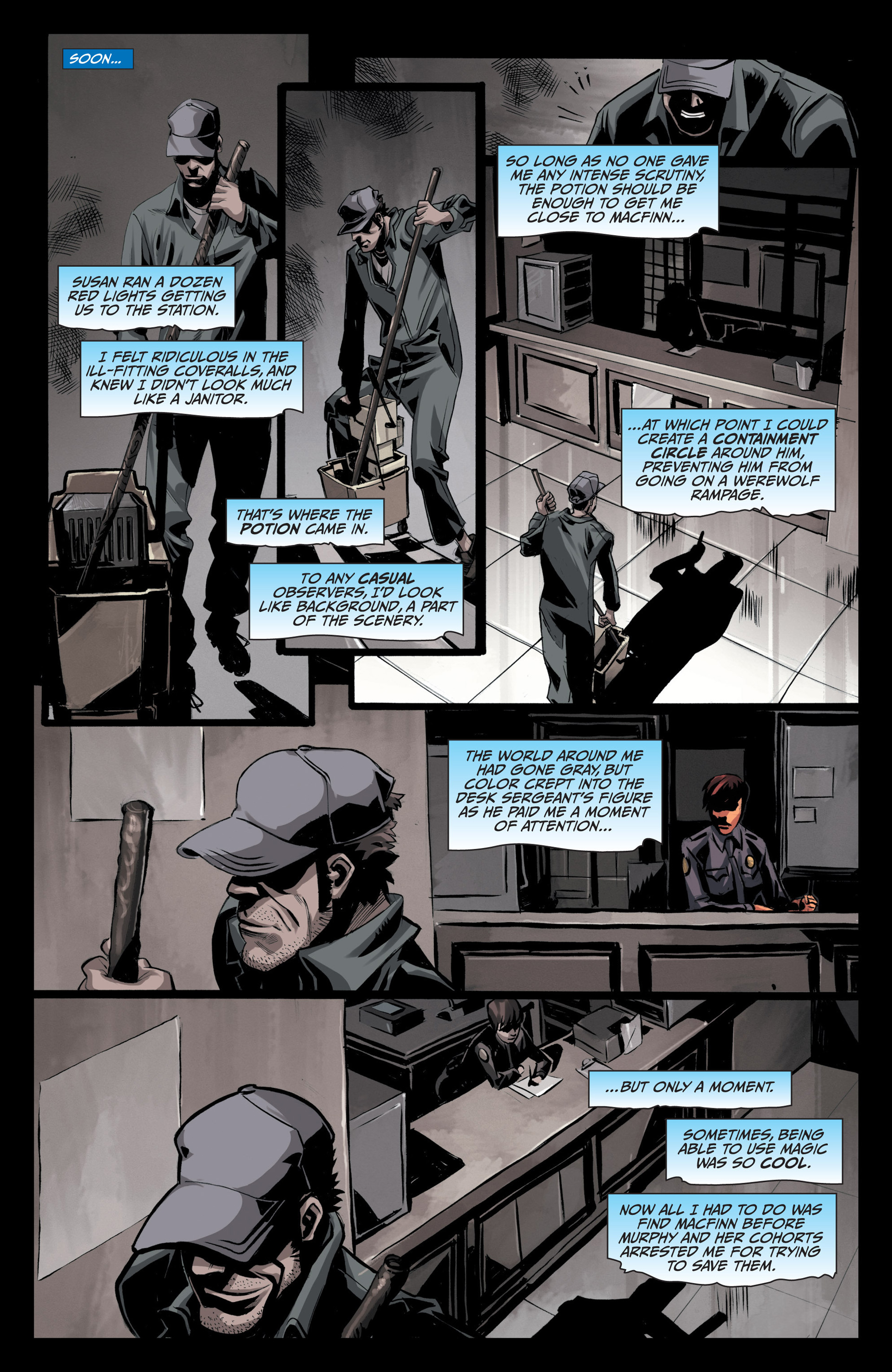 Read online Jim Butcher's The Dresden Files: Fool Moon comic -  Issue #5 - 6