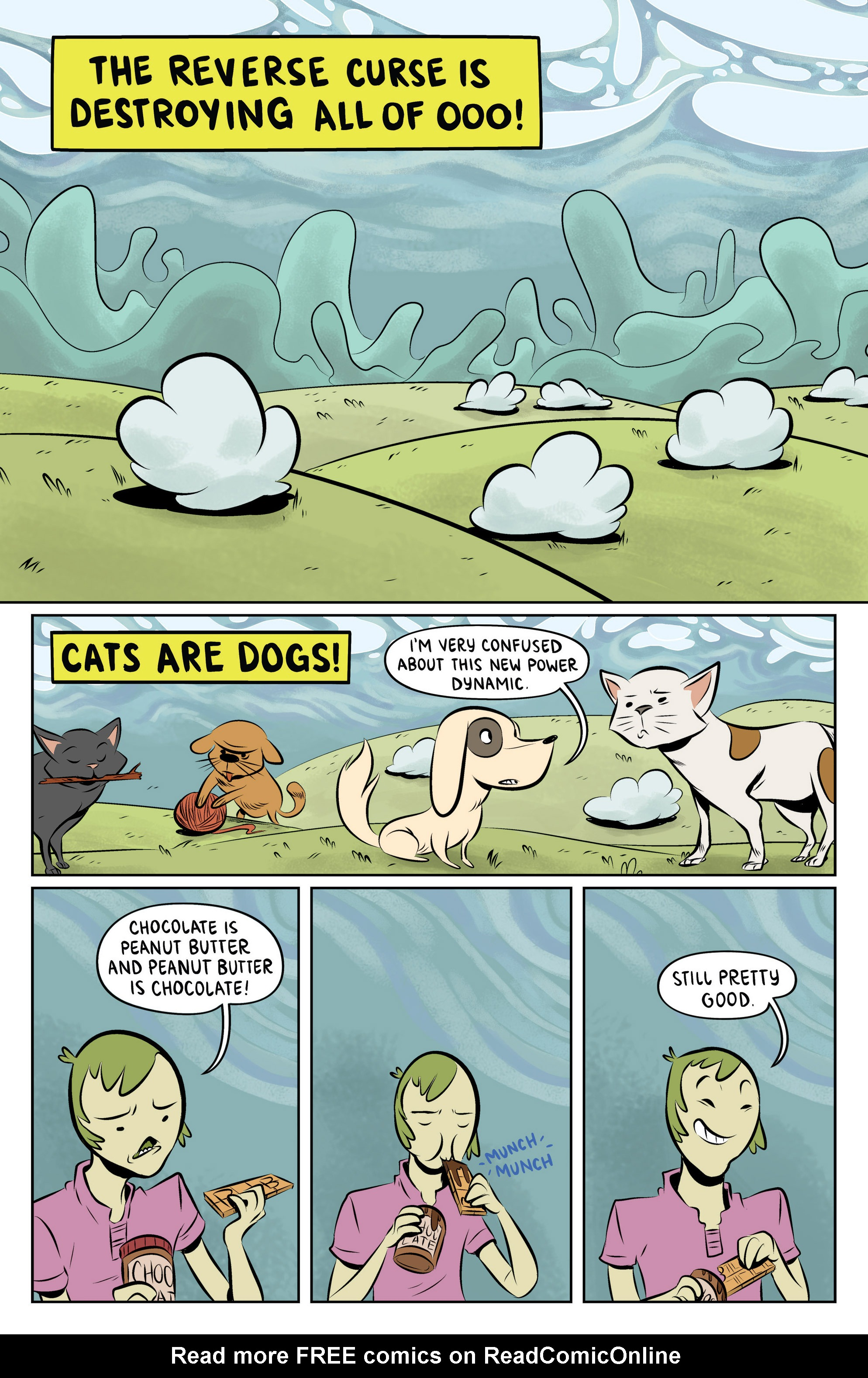 Read online Adventure Time: The Flip Side comic -  Issue #6 - 3