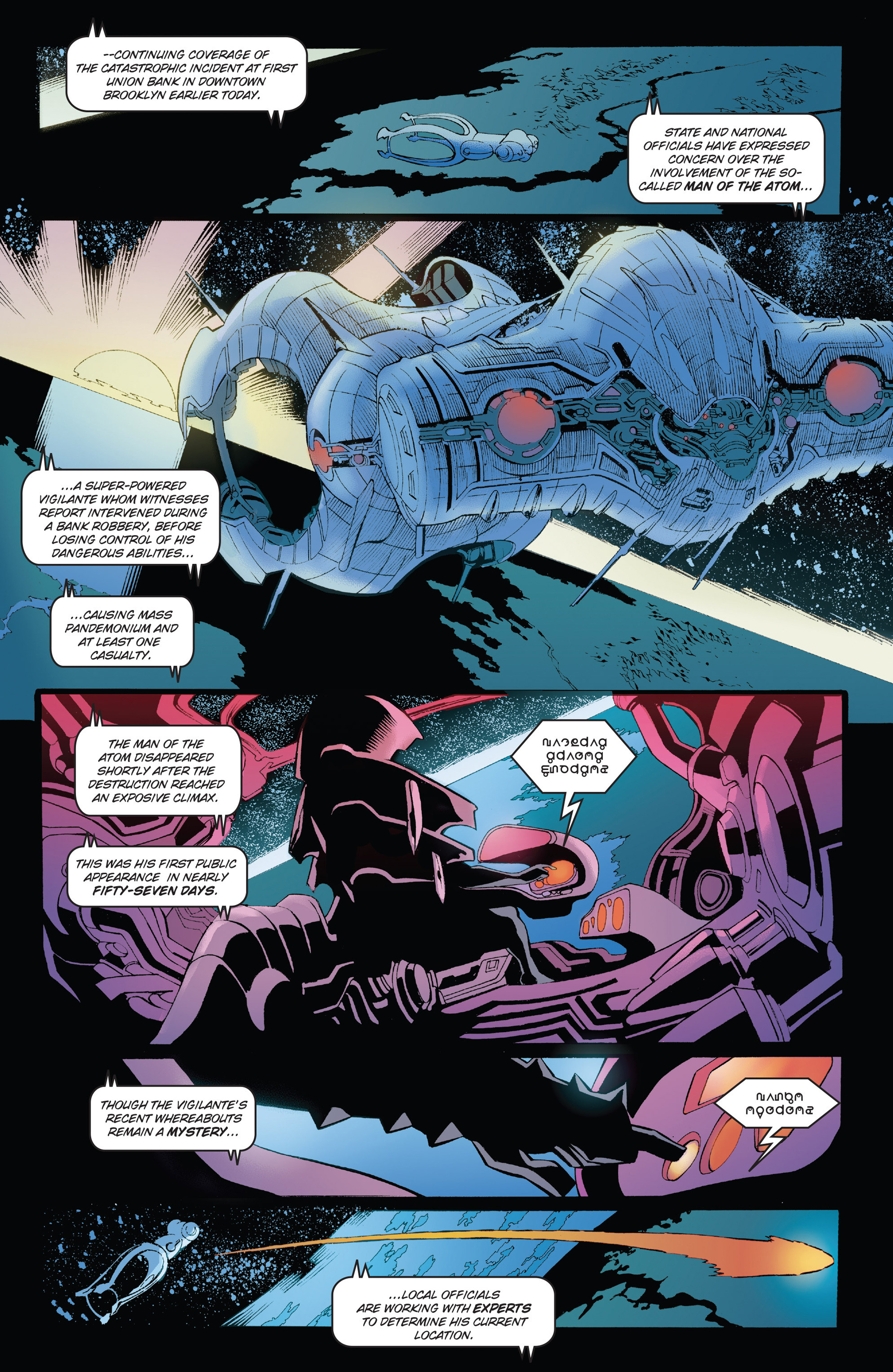 Read online Solar: Man of the Atom (2014) comic -  Issue #1 - 12