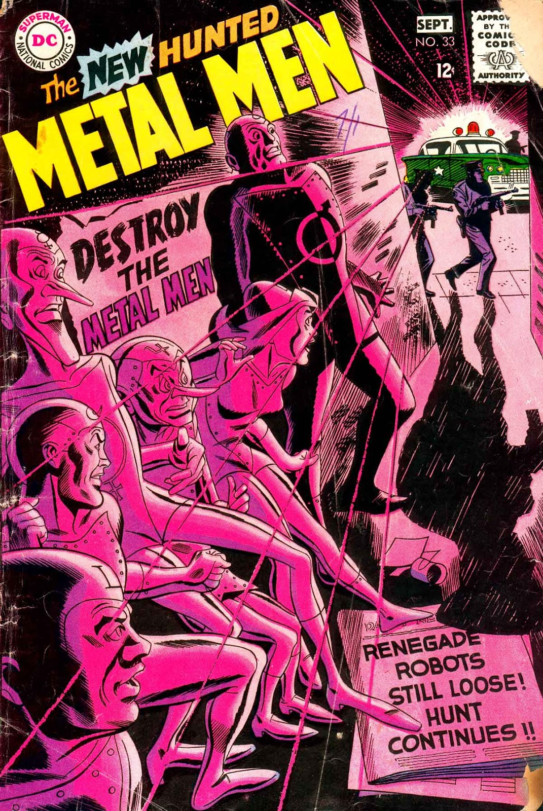 Metal Men (1963) issue 33 - Page 1