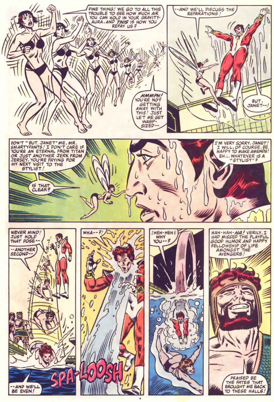 The Avengers (1963) 250 Page 7