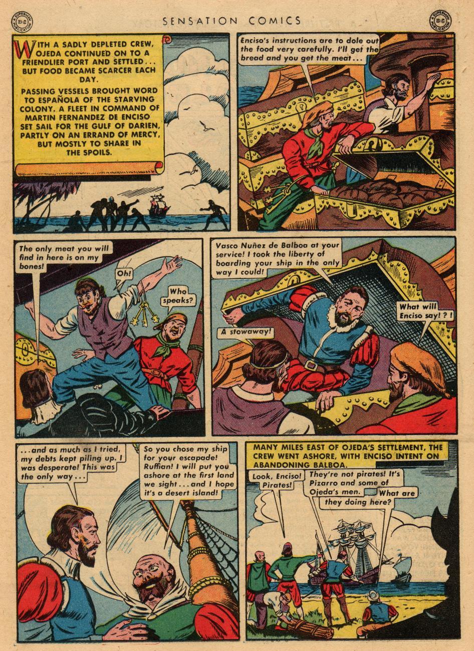 Read online Sensation (Mystery) Comics comic -  Issue #36 - 26