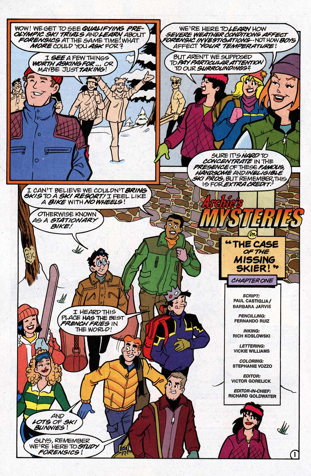 Read online Archie's Weird Mysteries comic -  Issue #26 - 3