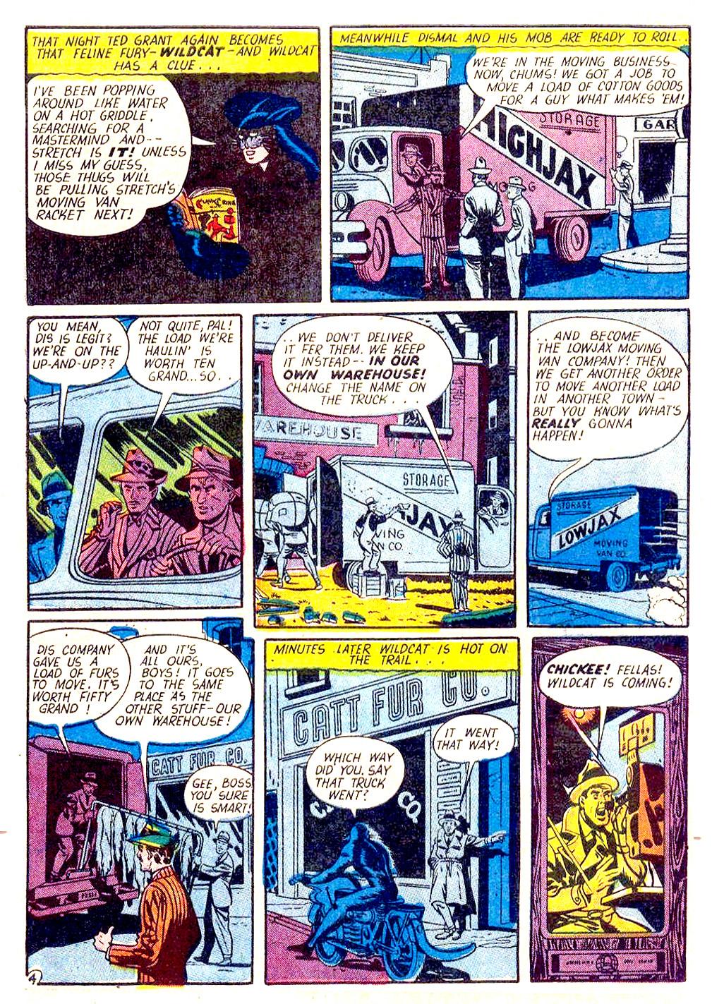 Read online Sensation (Mystery) Comics comic -  Issue #29 - 52
