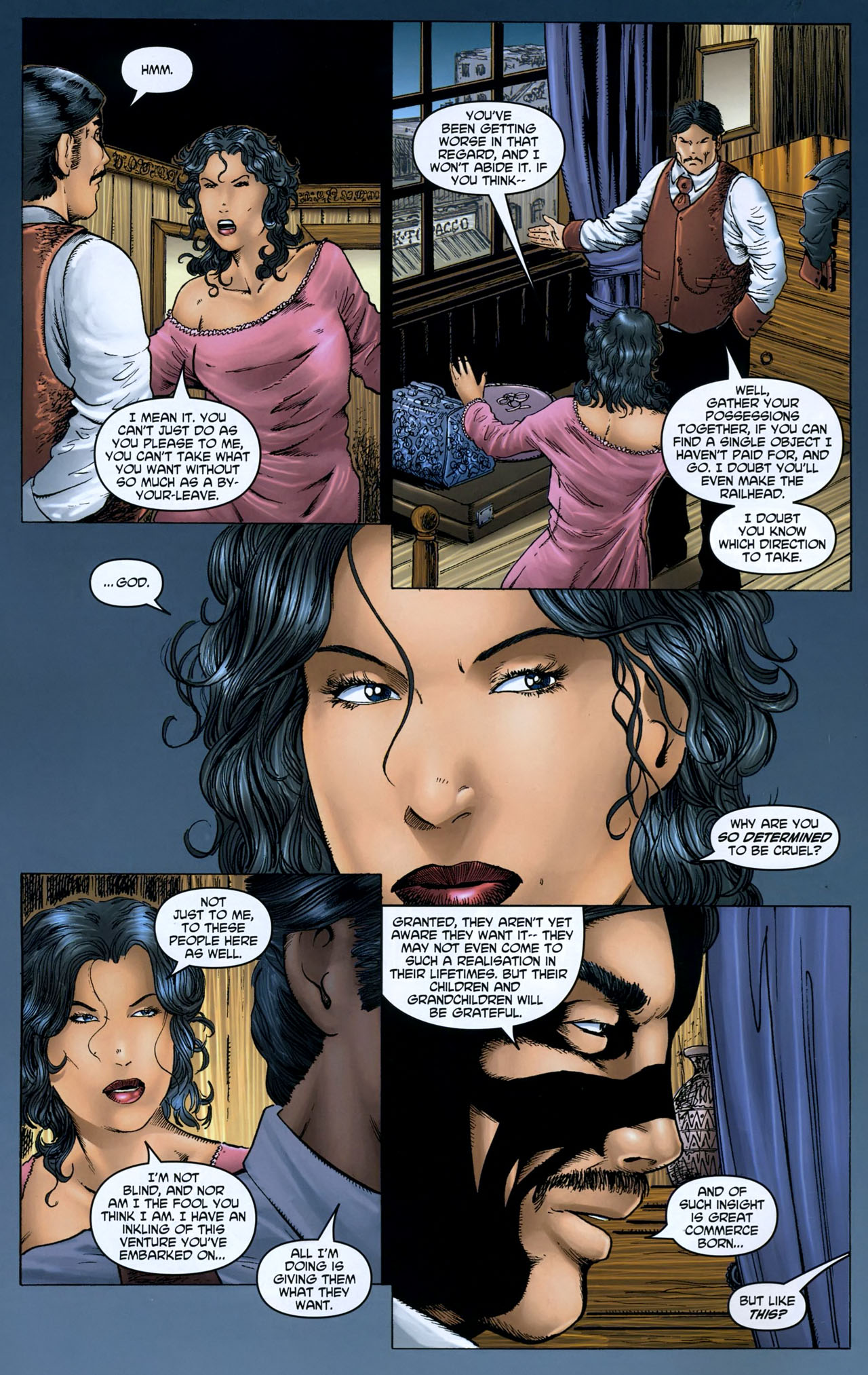 Read online Garth Ennis' Streets of Glory comic -  Issue #5 - 10