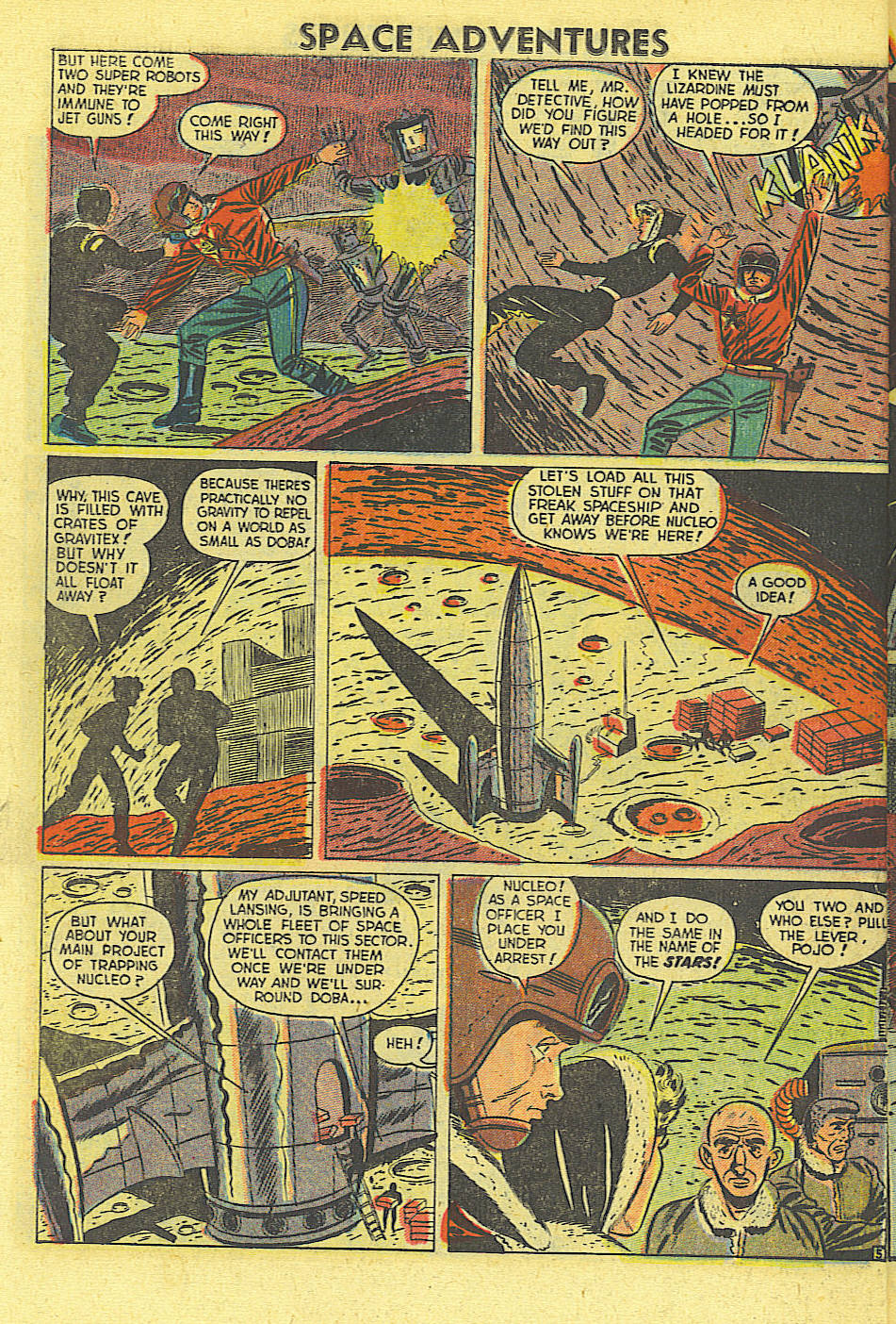 Space Adventures (1952) issue 4 - Page 23