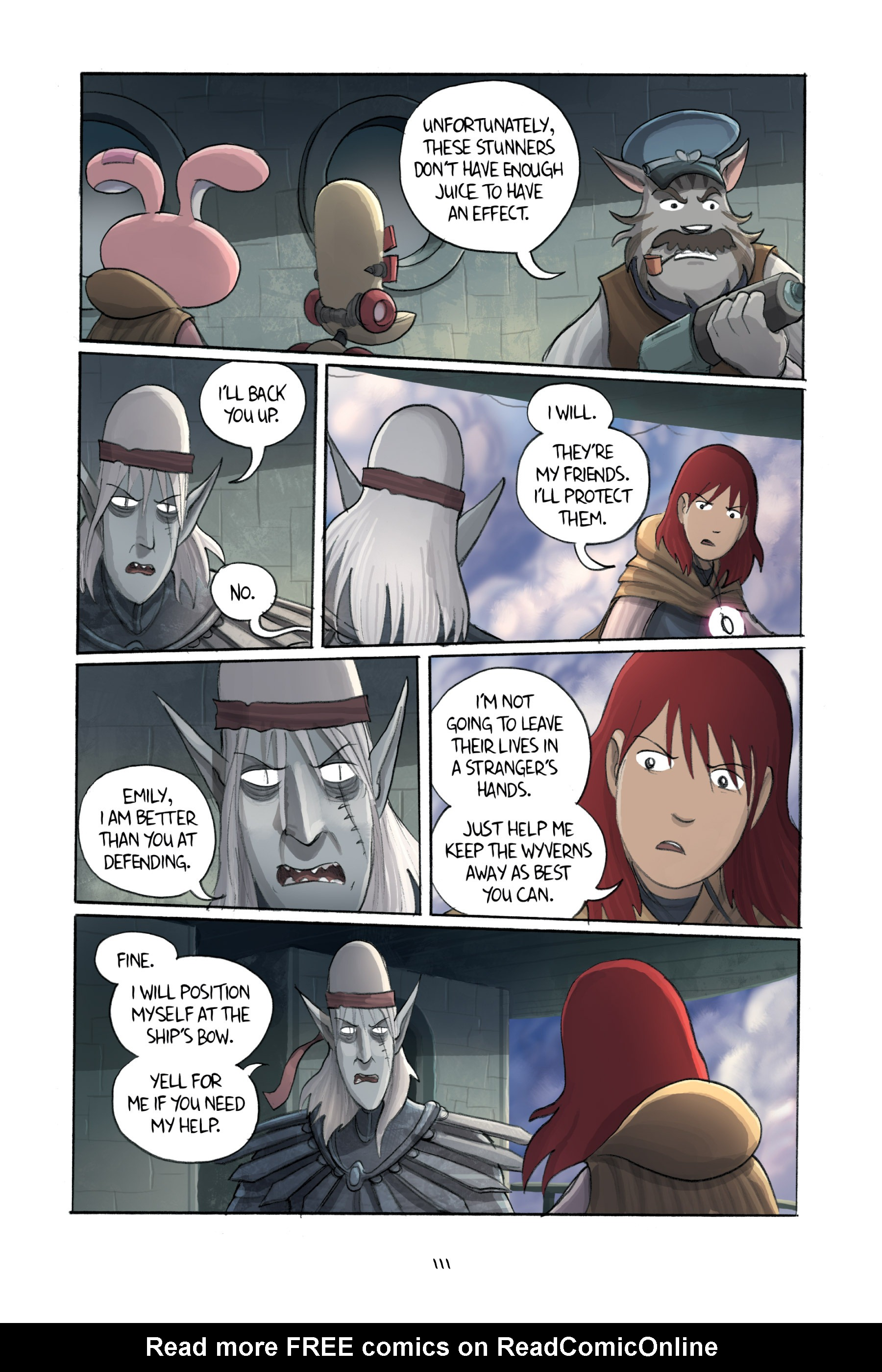 Read online Amulet comic -  Issue #3 - 109