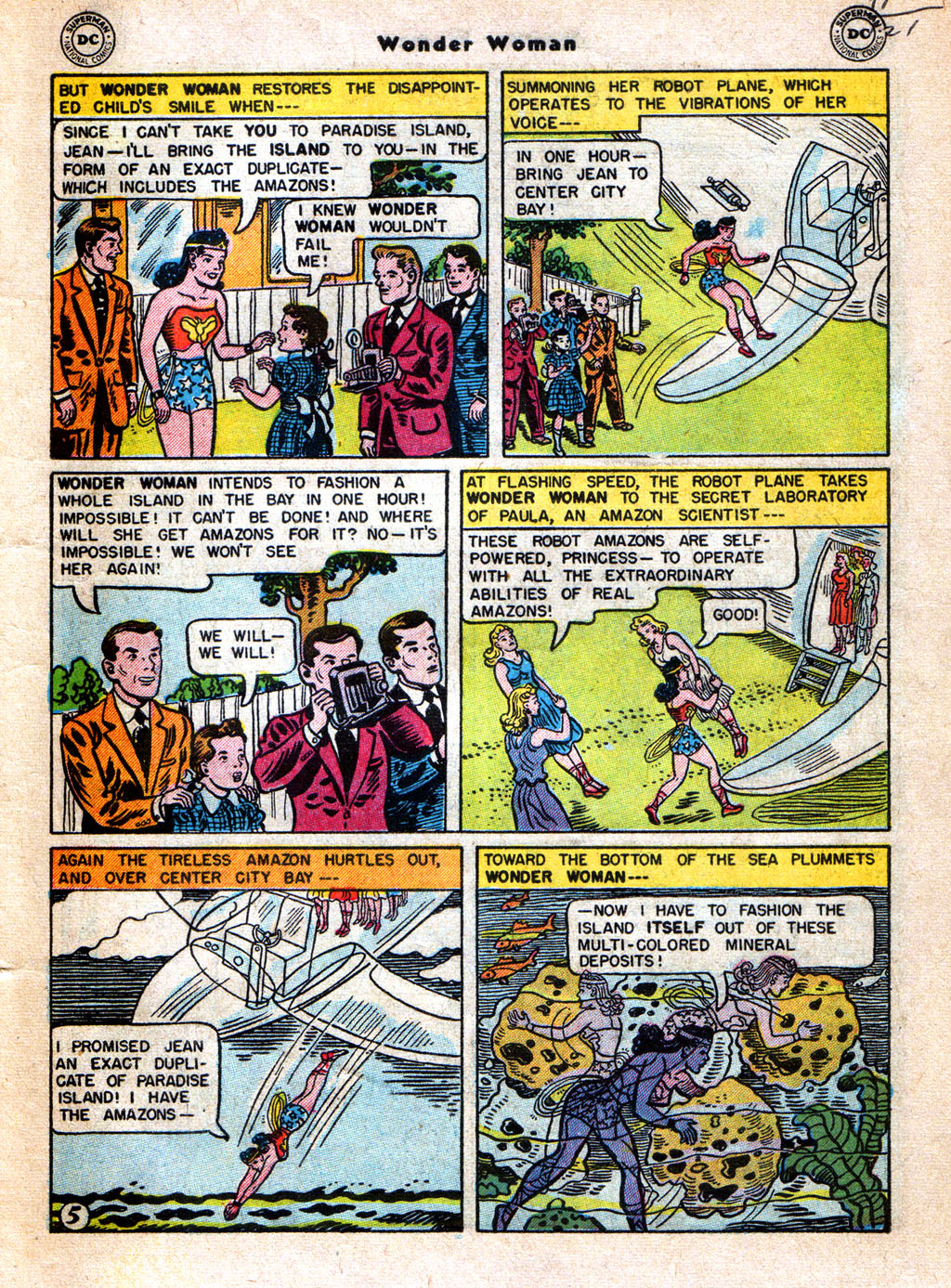 Read online Wonder Woman (1942) comic -  Issue #77 - 7