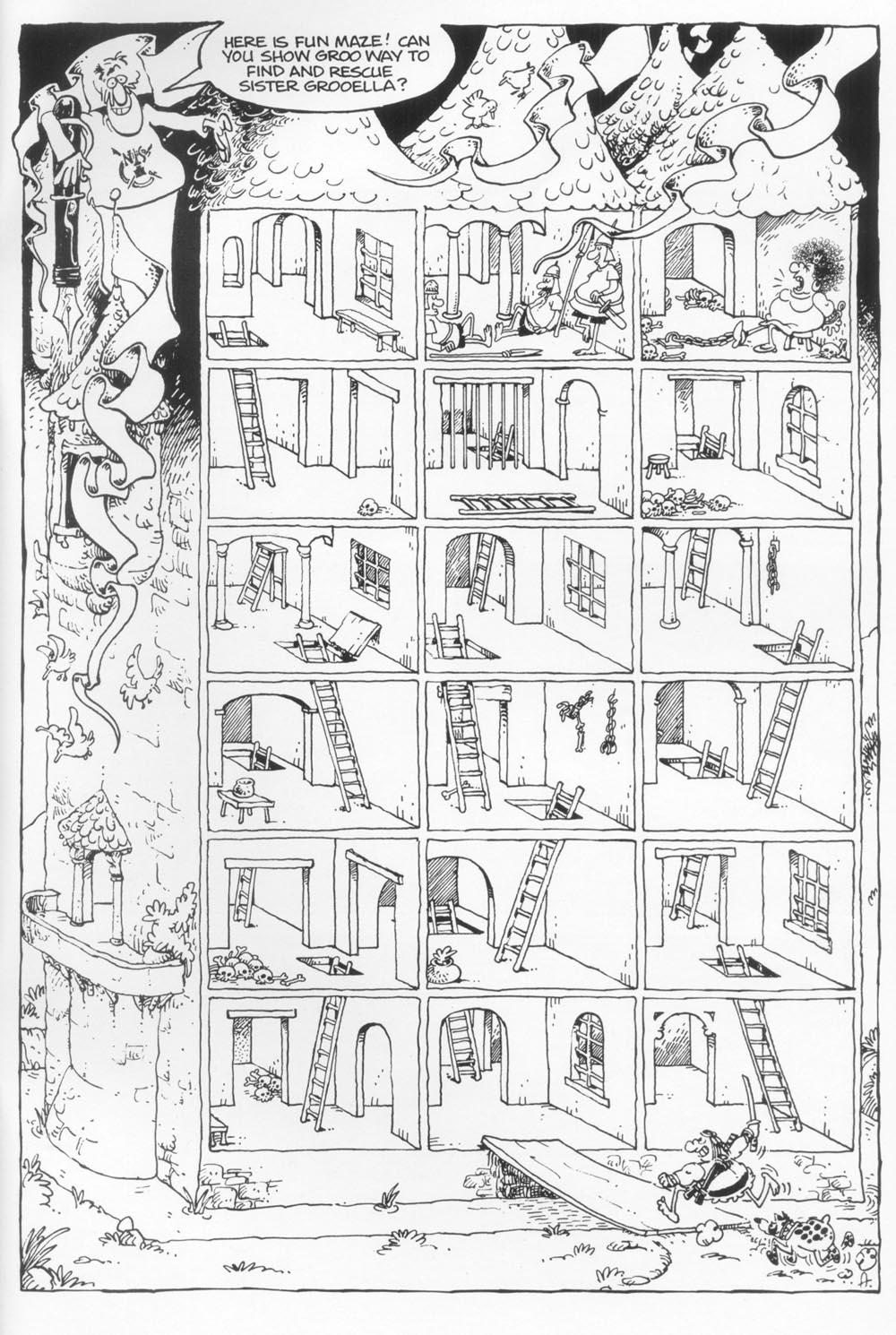 Read online Sergio Aragonés Groo the Wanderer comic -  Issue #117 - 33