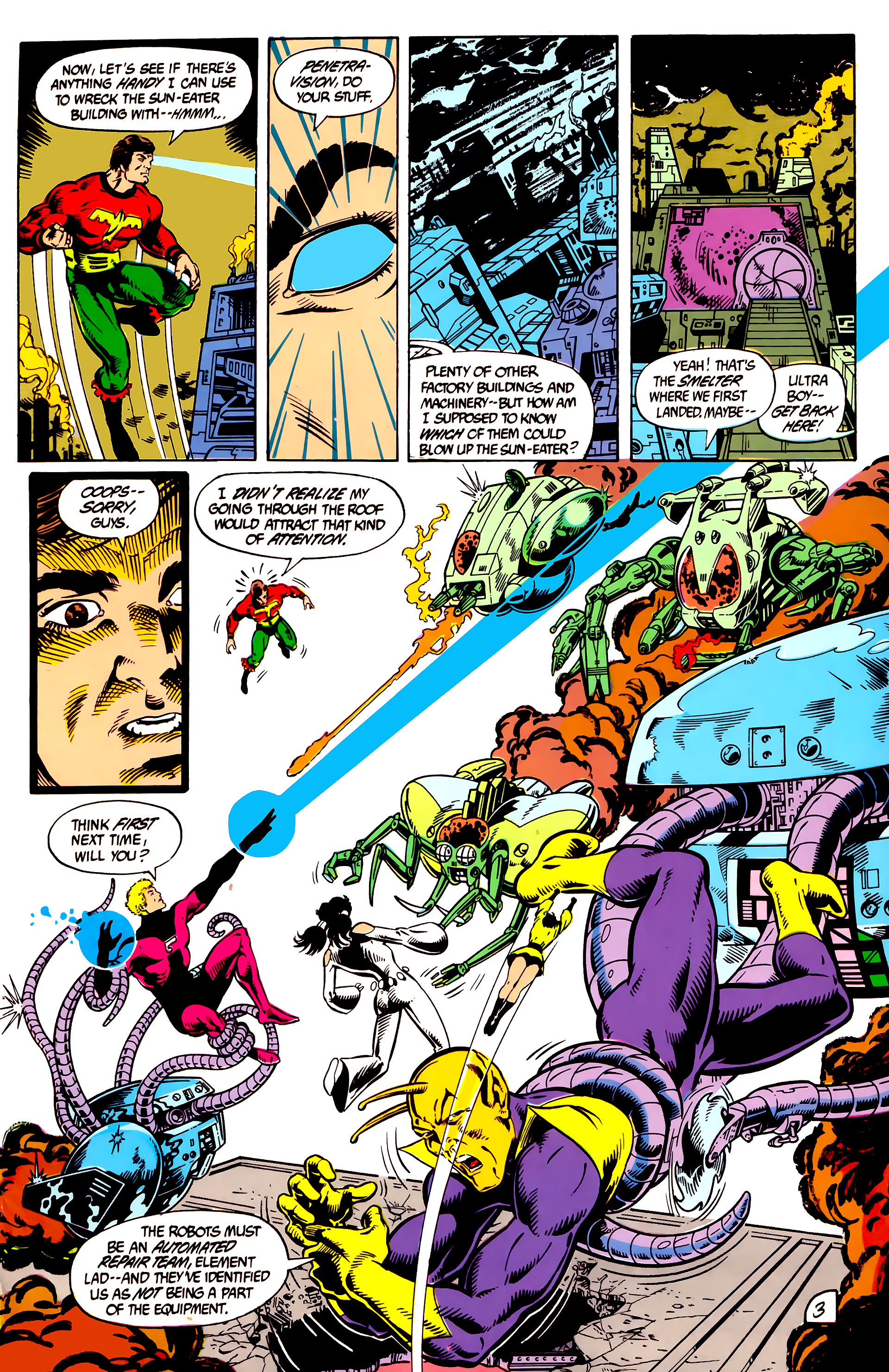 Legion of Super-Heroes (1984) 8 Page 4