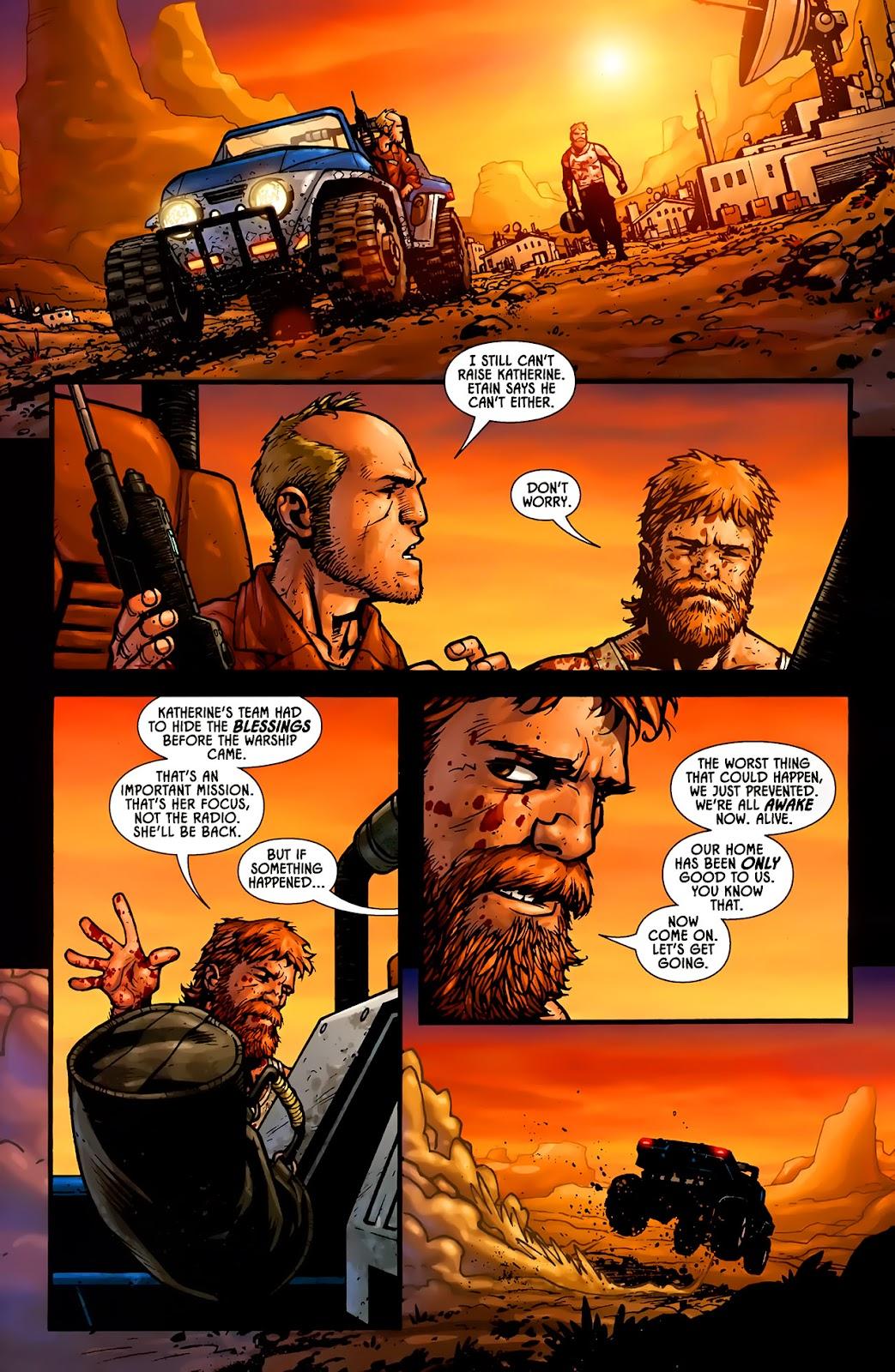 Read online Aliens (2009) comic -  Issue #1 - 21