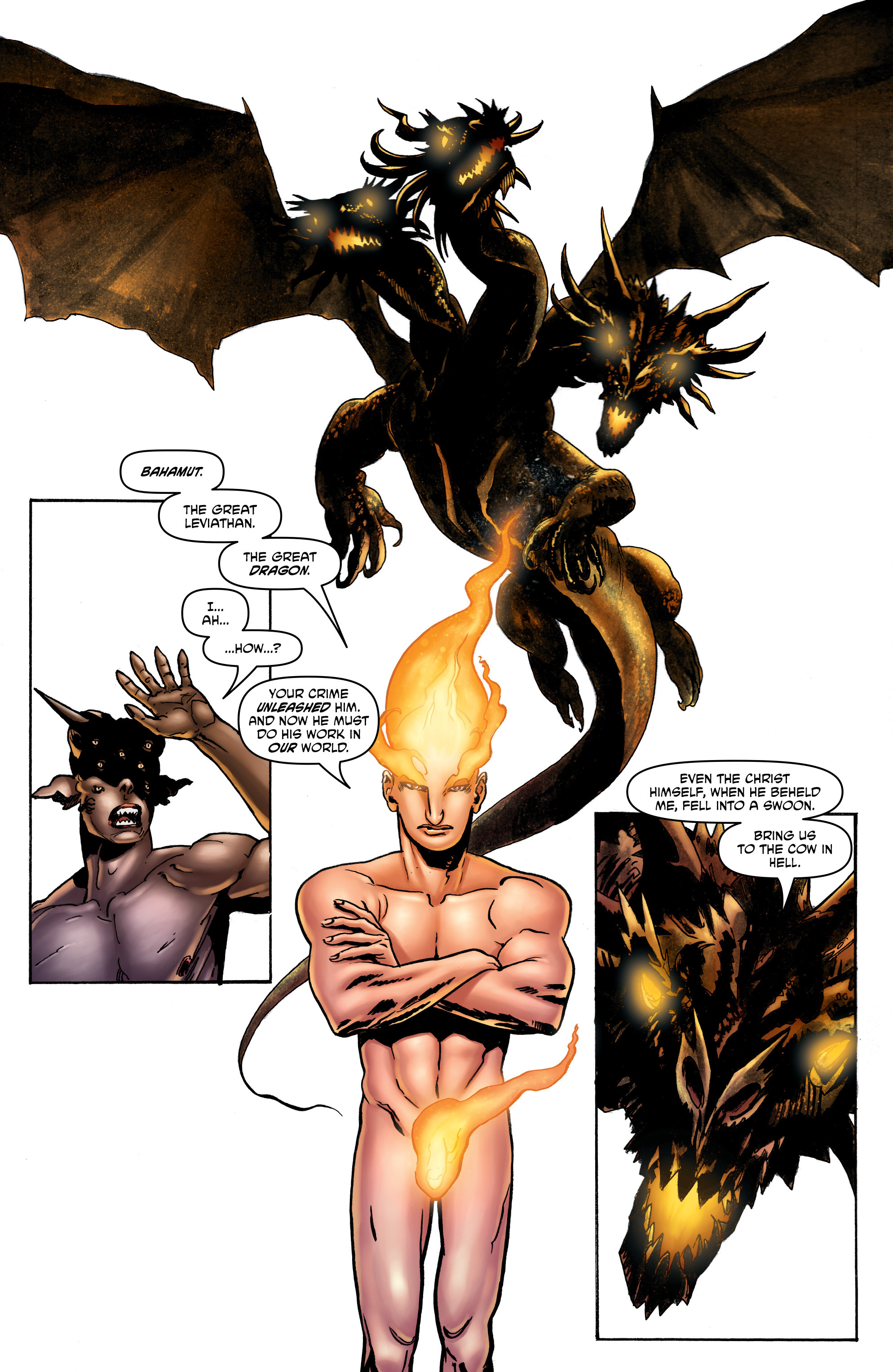 Read online God is Dead: Book of Acts comic -  Issue # Omega - 22