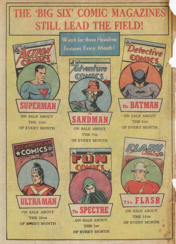 Read online Detective Comics (1937) comic -  Issue #39 - 67