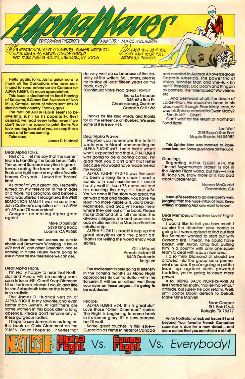 Read online Alpha Flight (1983) comic -  Issue #79 - 26