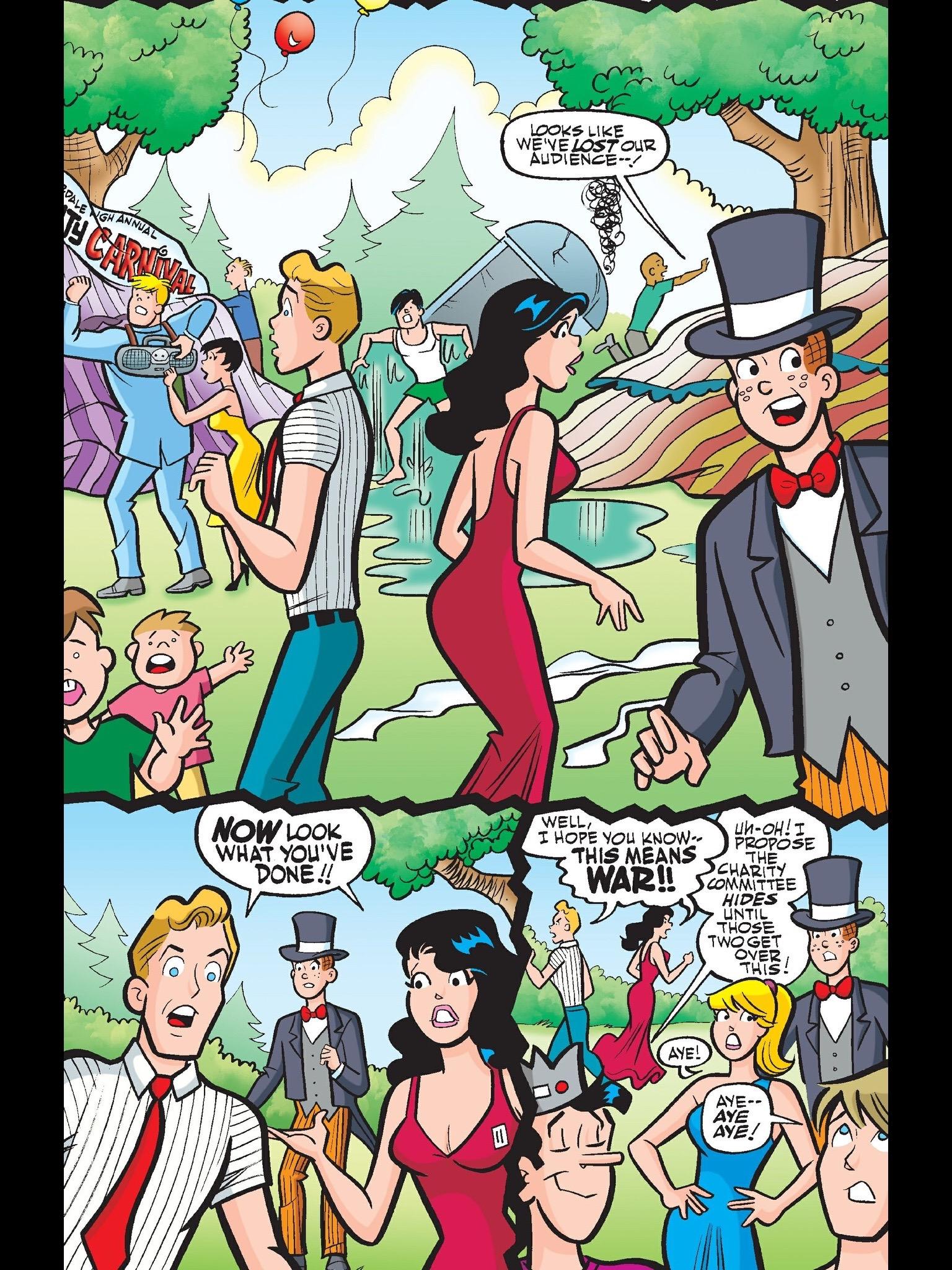 Read online Kevin Keller comic -  Issue #11 - 12
