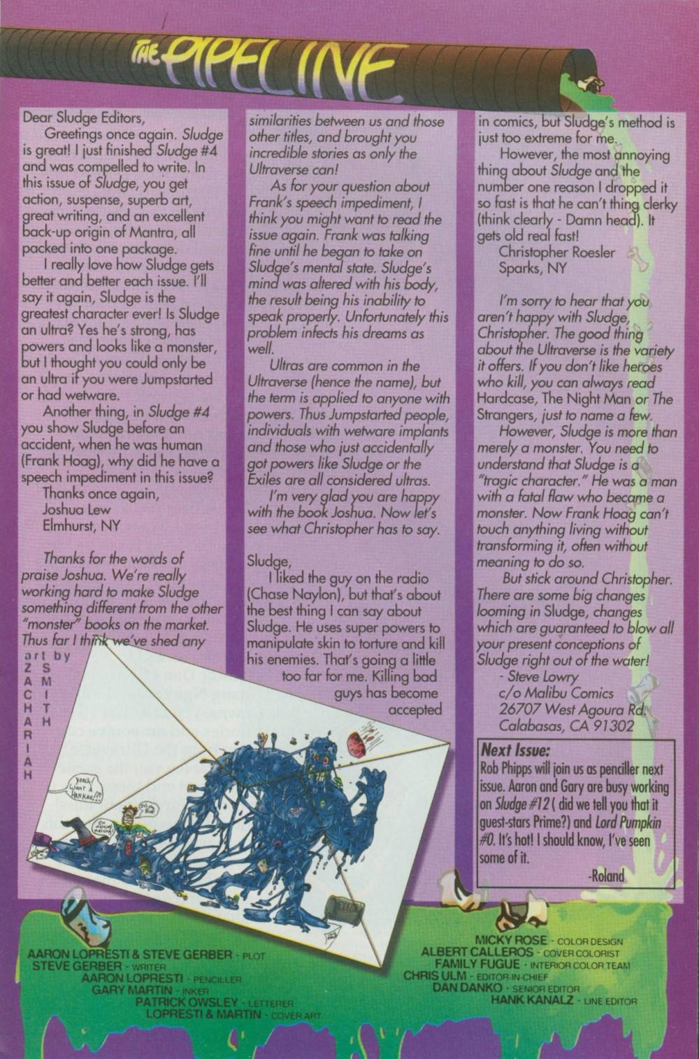 Read online Sludge comic -  Issue #8 - 26