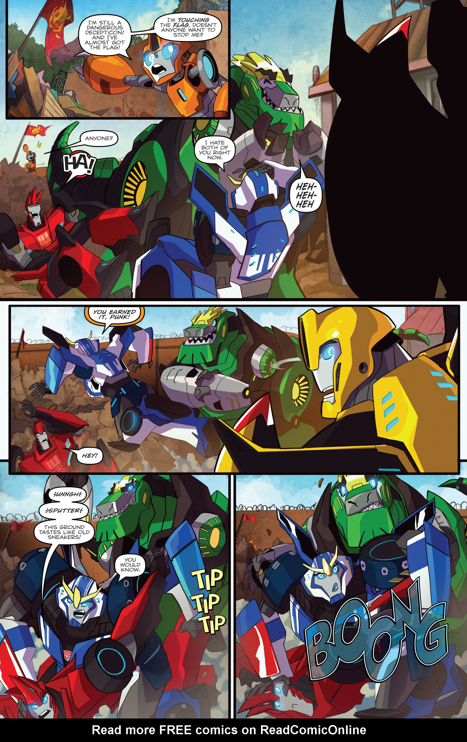 Read online Transformers: Robots In Disguise (2015) comic -  Issue #1 - 5