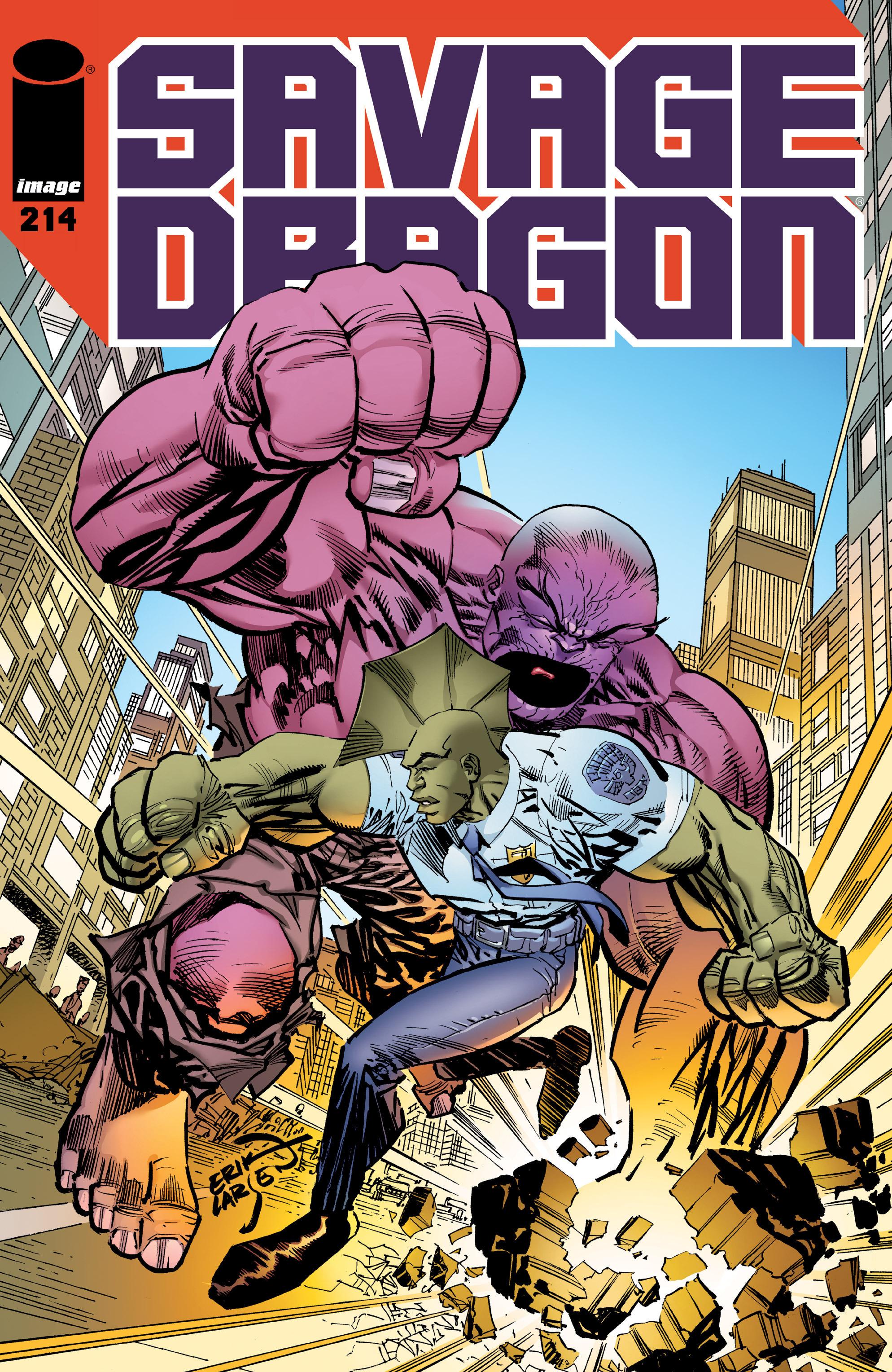 The Savage Dragon (1993) 214 Page 1