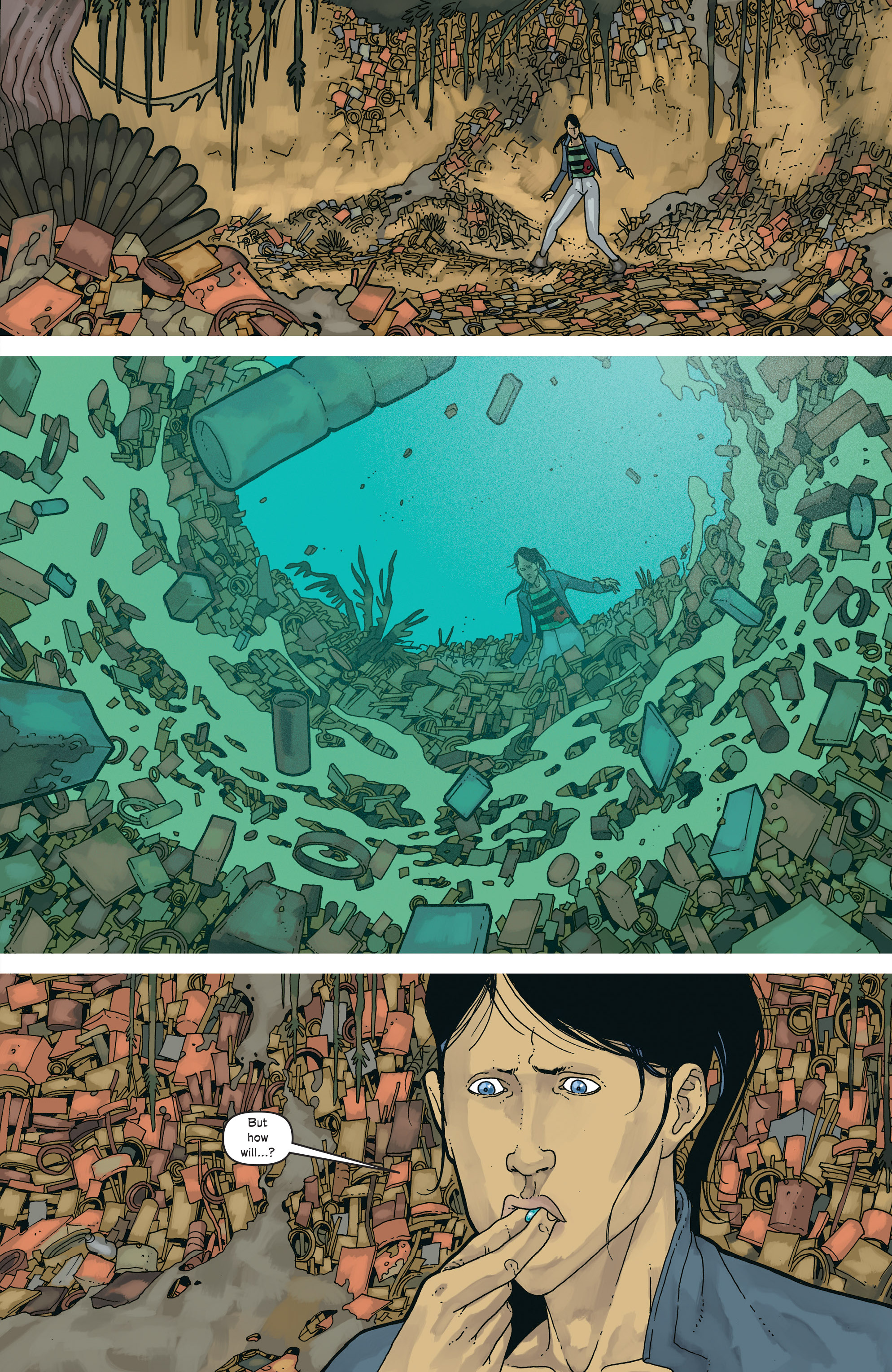 Read online Great Pacific comic -  Issue #18 - 10