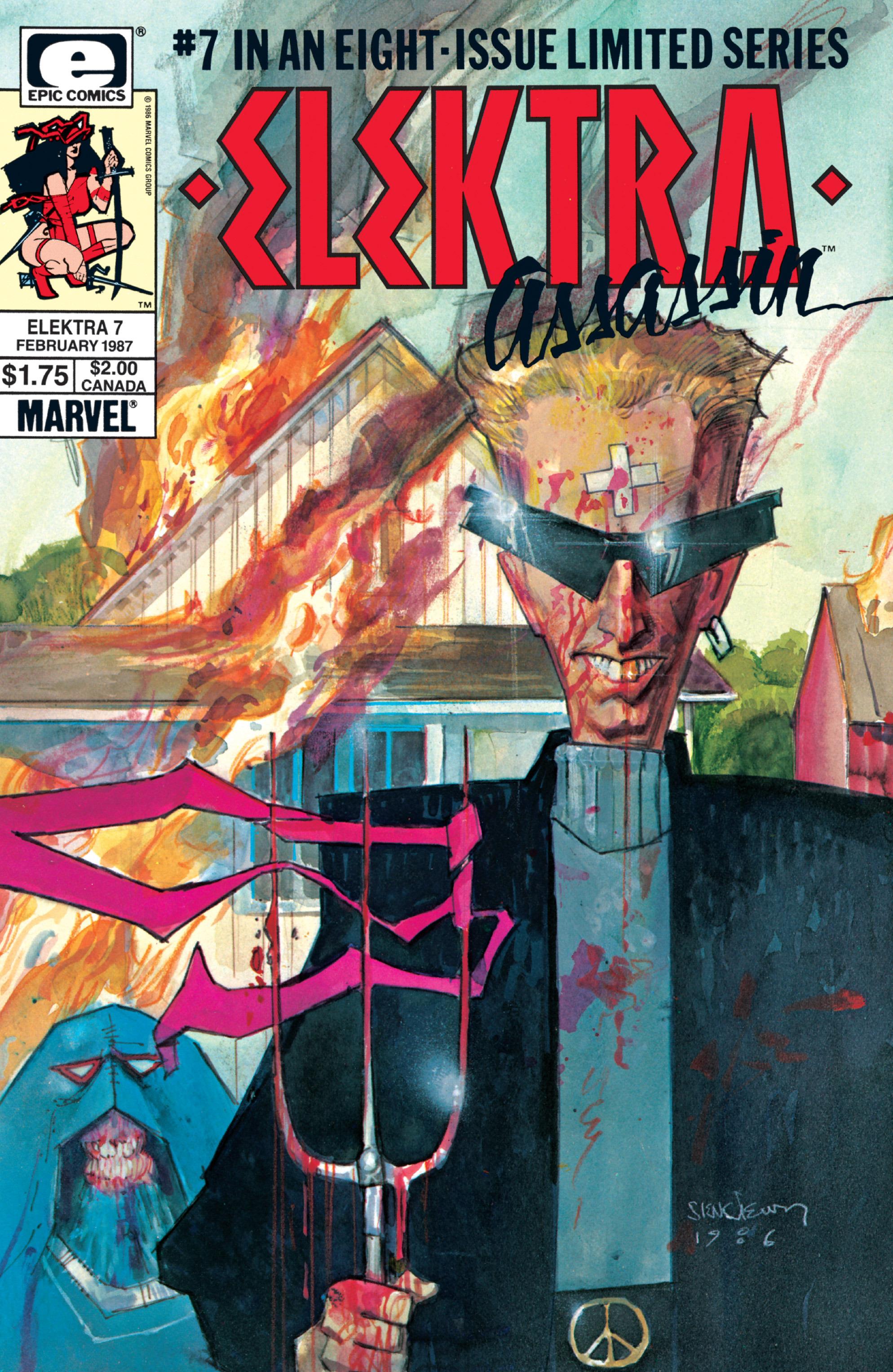 Elektra: Assassin 7 Page 1