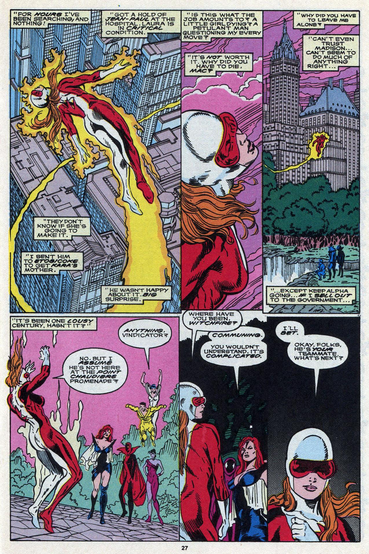 Read online Alpha Flight (1983) comic -  Issue #87 - 28
