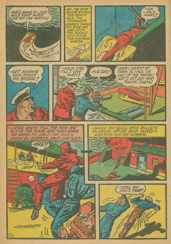 Read online Amazing Man Comics comic -  Issue #9 - 25