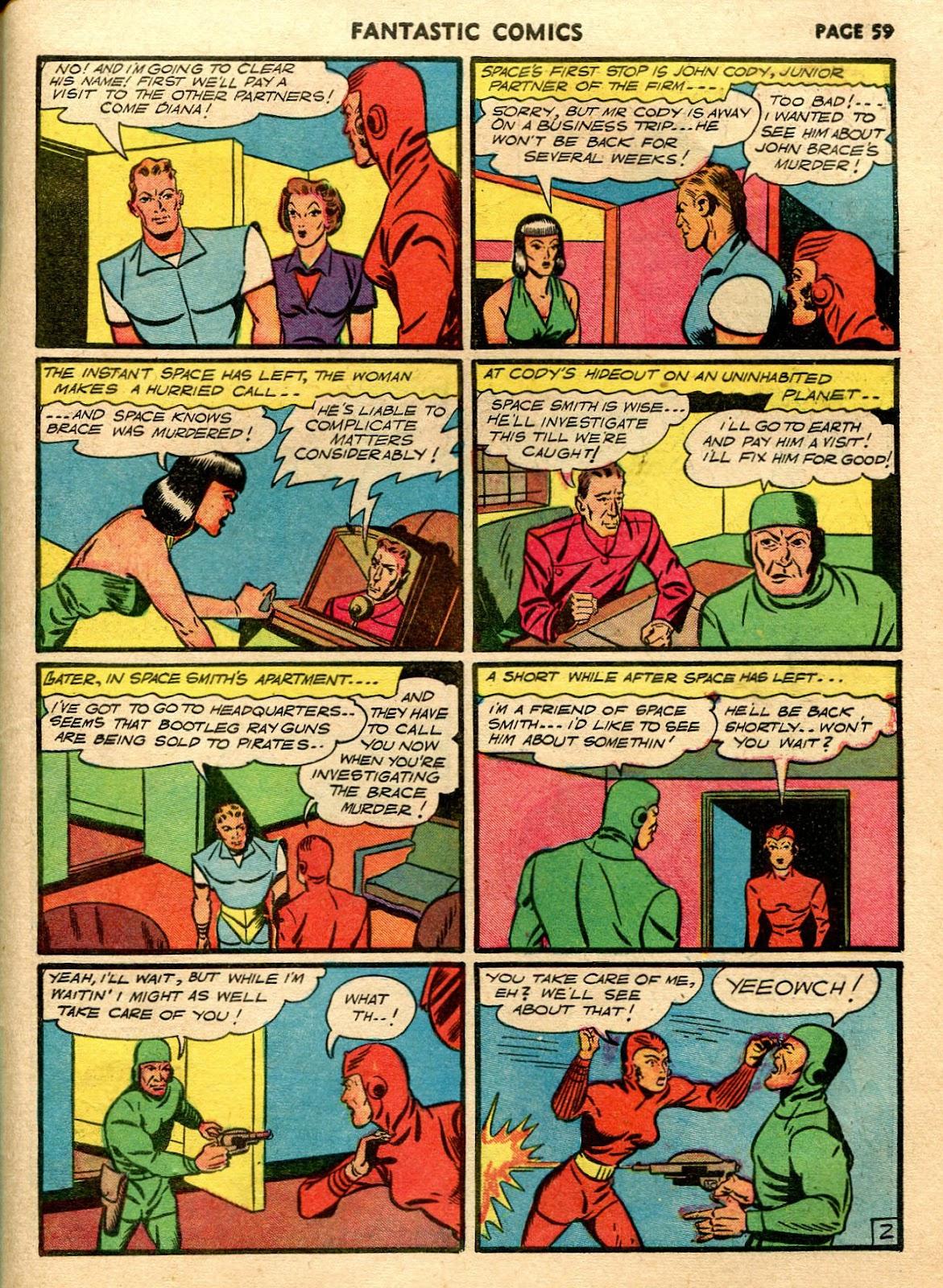 Read online Fantastic Comics comic -  Issue #21 - 57